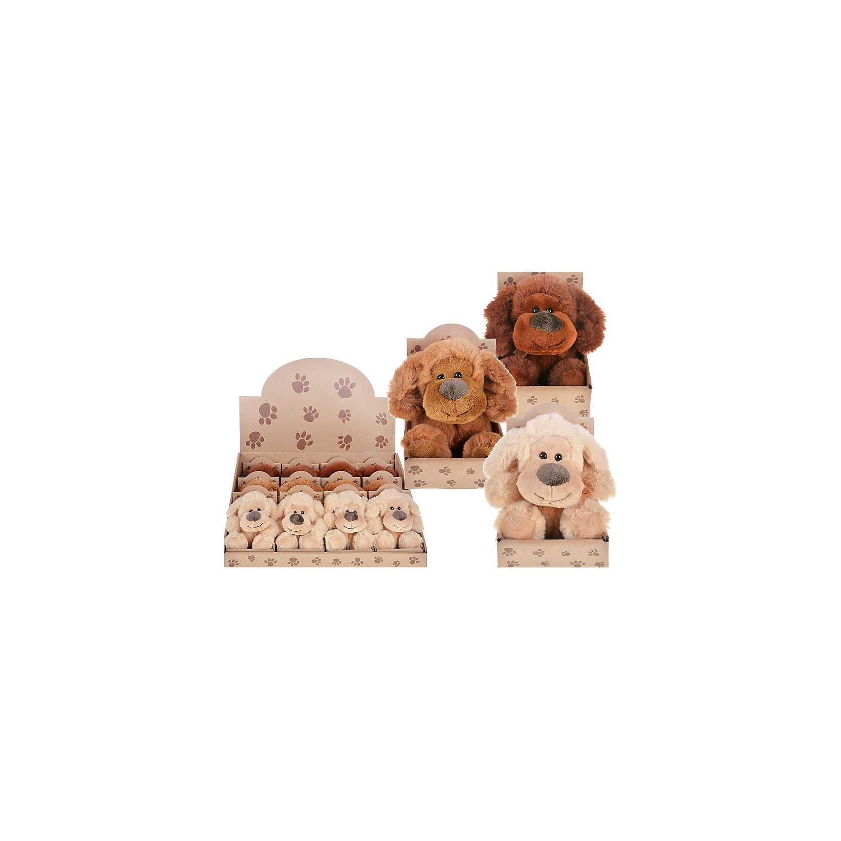 Мягкая игрушка Собачка (3 цвета в ассортименте)Очаровательный мягкий щенок - прекрасный подарок на любой праздник. Дети обожают мягкие игрушки и всегда будут рады новому плюшевому или меховому другу! Игрушка выполнена из высококачественных экологичных материалов, плотно набита, приятна на ощупь. <br><br>Дополнительная информация:<br><br>- Материал: текстиль, пластик, синтепон.<br>- Размер: 7,5х5х12,5 см. <br>- 3 цвета в ассортименте: коричневый, светло-коричневый, бежевый. <br>ВНИМАНИЕ! Данный артикул представлен в разных вариантах исполнения. К сожалению, заранее выбрать определенный вариант невозможно. При заказе нескольких игрушек возможно получение одинаковых.<br><br>Мягкую игрушку Собачка (3 цвета в ассортименте) можно купить в нашем магазине.<br><br>Ширина мм: 120<br>Глубина мм: 90<br>Высота мм: 120<br>Вес г: 98<br>Возраст от месяцев: 36<br>Возраст до месяцев: 144<br>Пол: Унисекс<br>Возраст: Детский<br>SKU: 4558384