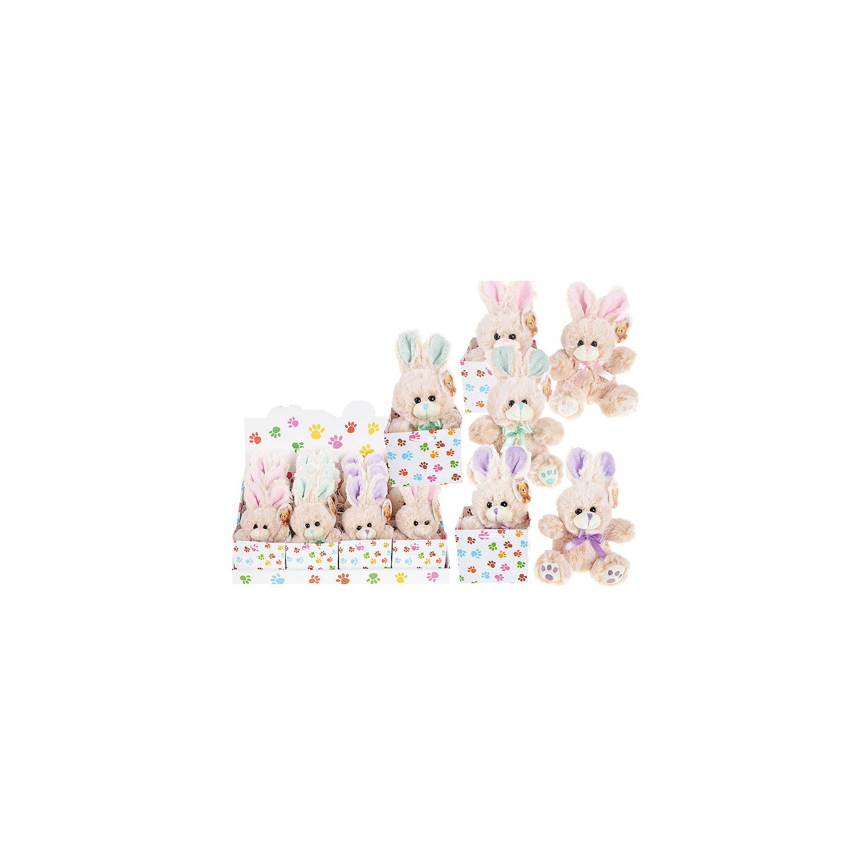 Мягкая игрушка ЗайчикЗайцы и кролики<br>Очаровательный мягкий зайчик - прекрасный подарок на любой праздник. Дети обожают мягкие игрушки и всегда будут рады новому плюшевому или меховому другу! Игрушка выполнена из высококачественных экологичных материалов, плотно набита, приятна на ощупь. <br><br>Дополнительная информация:<br><br>- Материал: текстиль, пластик, синтепон.<br>- Размер: 7,5х5х15 см. <br><br>Мягкую игрушку Зайчик можно купить в нашем магазине.<br><br>Ширина мм: 110<br>Глубина мм: 110<br>Высота мм: 170<br>Вес г: 98<br>Возраст от месяцев: 36<br>Возраст до месяцев: 144<br>Пол: Унисекс<br>Возраст: Детский<br>SKU: 4558389