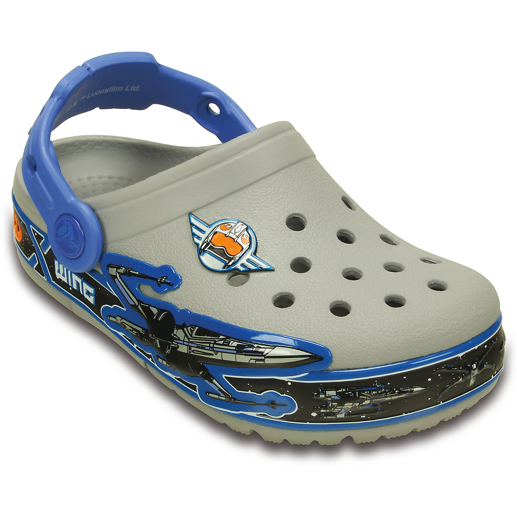 crocs Сабо со светодиодами Kids' CrocsLights Star Wars X-Wing Clog Crocs  crocs crocslights butterfly ps clog toddler little kid