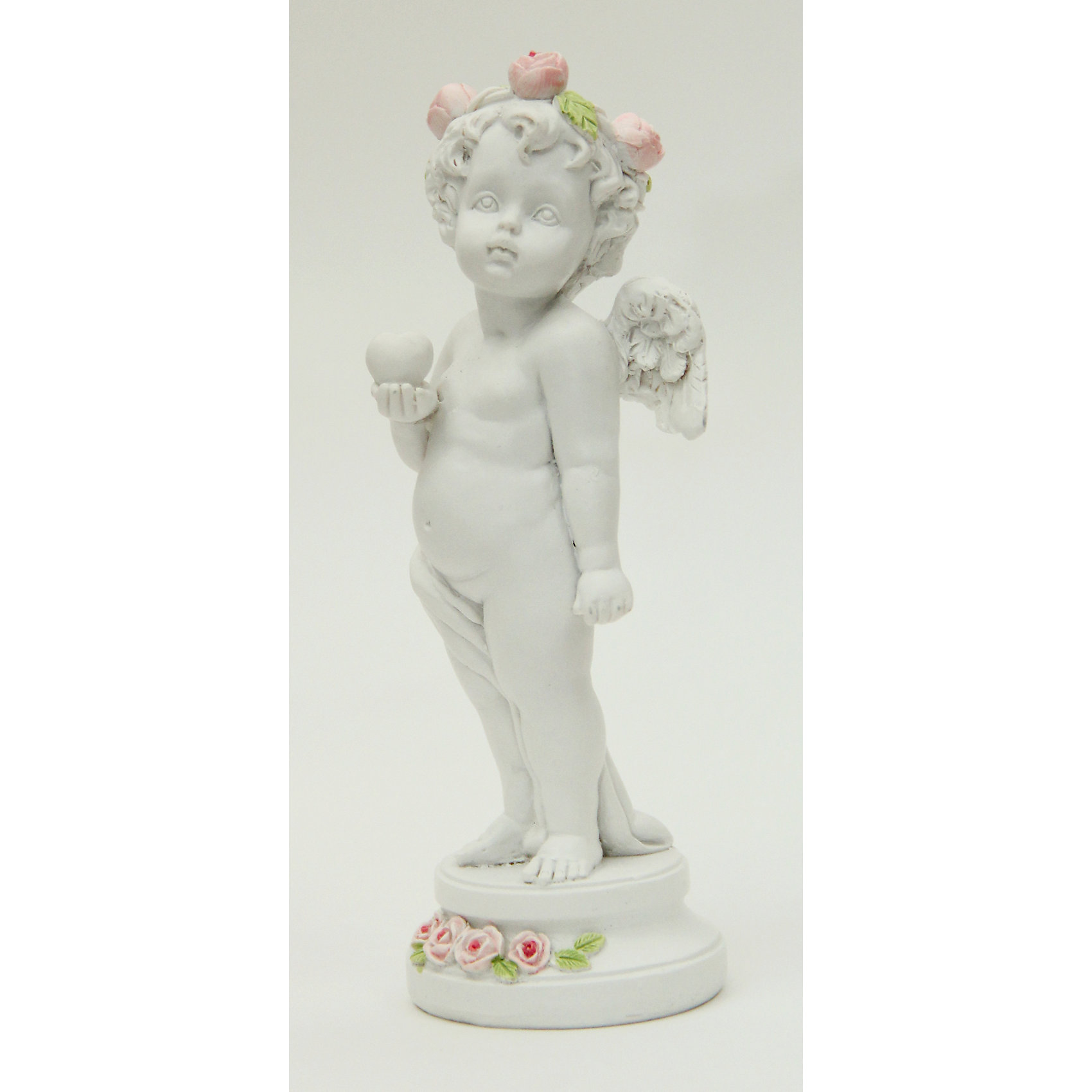 Фигурка Влюбленный ангел 4,7*4,5*12,7 смДекоративная фигурка в виде очаровательного ангела станет отличным памятным сувениром на любой праздник. <br><br>Дополнительная информация:<br><br>- Материал: полирезина.<br>- Размер: 4,7х4,5х12,7 см. <br>- Цвет: белый. <br><br>Фигурку Влюбленный ангел 4,7х4,5х12,7 см можно купить в нашем магазине.<br><br>Ширина мм: 47<br>Глубина мм: 45<br>Высота мм: 127<br>Вес г: 88<br>Возраст от месяцев: 36<br>Возраст до месяцев: 2147483647<br>Пол: Женский<br>Возраст: Детский<br>SKU: 4560525