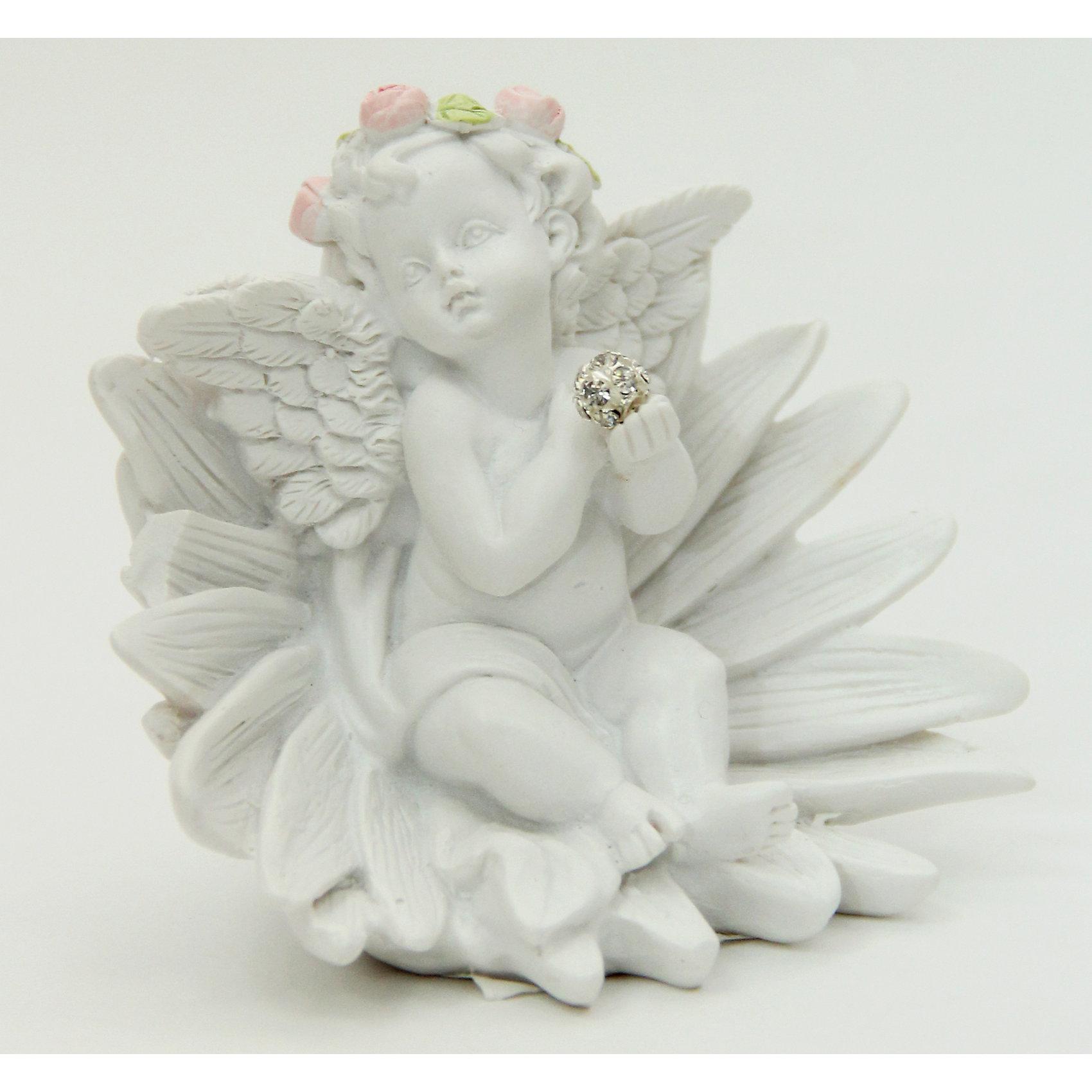 Фигурка Цветочный ангел 8*5,9*6,8 смДекоративная фигурка в виде очаровательного задумчивого ангела, сидящего на цветке, станет отличным памятным сувениром на любой праздник. <br><br>Дополнительная информация:<br><br>- Материал: полирезина.<br>- Размер: 8х5,9х6,8 см. <br>- Цвет: белый. <br><br>Фигурку Цветочный ангел 8х5,9х6,8 см можно купить в нашем магазине.<br><br>Ширина мм: 80<br>Глубина мм: 59<br>Высота мм: 68<br>Вес г: 90<br>Возраст от месяцев: 36<br>Возраст до месяцев: 2147483647<br>Пол: Женский<br>Возраст: Детский<br>SKU: 4560529