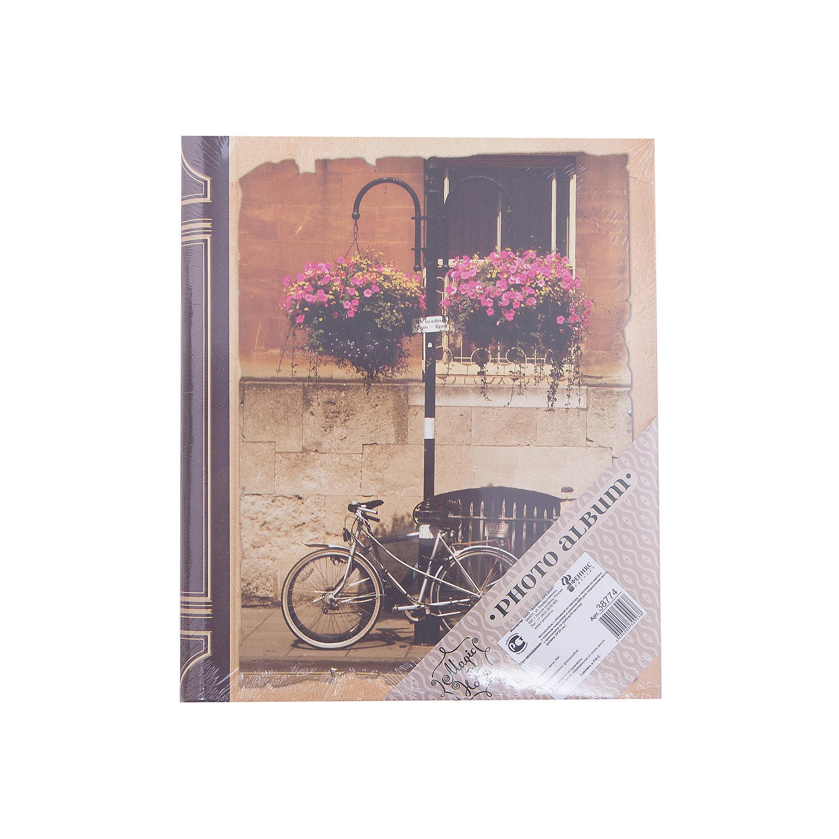 Фотоальбом Велосипед 10 листовПредметы интерьера<br>Стильный красивый фотоальбом надежно сохранит фотографии, напоминающие о самых необычных и интересных днях, наполненных сильными эмоциями и яркими впечатлениями. Альбом станет прекрасным подарком на любой праздник. <br><br>Дополнительная информация:<br><br>- Материал: картон, ПВХ.<br>- Размер: 24х29 см.<br>- Переплёт: книжный.<br>- 10 листов.<br>- Листы с клеевым покрытием и пленкой ПВХ.<br>- Крепление: закрытая спираль.<br><br>Фотоальбом Велосипед 10 листов, можно купить в нашем магазине.<br><br>Ширина мм: 240<br>Глубина мм: 290<br>Высота мм: 20<br>Вес г: 800<br>Возраст от месяцев: 36<br>Возраст до месяцев: 2147483647<br>Пол: Унисекс<br>Возраст: Детский<br>SKU: 4560533