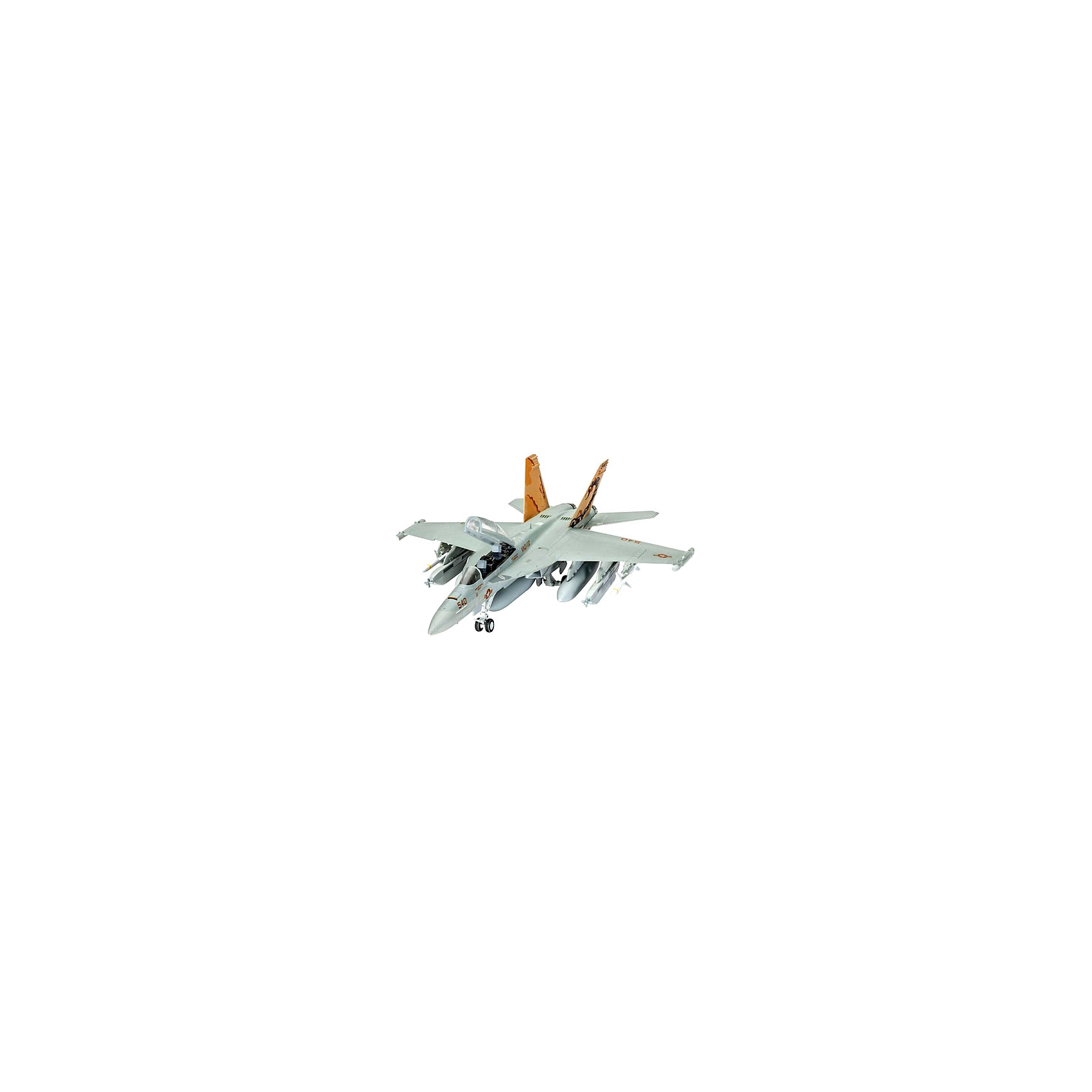 Набор Самолёт радиоэлектронной борьбы, RevellСамолёт EA-18G Growler используется военно-воздушными силами США в радиоэлектронной борьбе для уничтожения вражеских средств связи. Его миссия заключается в мониторинге и атаке вражеских центров коммуникации и радарных установок.  Превосходно выполненная сборная модель самолёта радиоэлектронной борьбы EA-18G Growler от немецкой компании Revell является абсолютно точной уменьшенной копией своего прототипа в масштабе 1:144. Модель тщательно проработанная, особое внимание уделялось деталям. Фактурные поверхности, детализированная кабина пилота с двумя сиденьями, которые могут катапультироваться, характерные шасси, а также оборудование для радиоэлектронной борьбы приближают макет самолёта к своему оригиналу. Всего модель состоит из 63 отдельных компонентов, которые необходимо собрать, склеить и покрыть краской в соответствии с инструкцией в наборе. В комплекте также прилагаются краски подлинных цветов, кисточка, уникальный набор наклеек для создания неповторимого дизайна самолёта, а также клей в удобной упаковке.  Великолепная сборная модель американского самолёта EA-18G Growler разработана немецкой компанией Revell для детей от 10 лет. Так похожая на оригинал, модель определённо обрадует не только юных поклонников моделирования, но и взрослых любителей и коллекционеров военной техники разных стран. Моделирование относят к одному из наиболее полезных хобби, ведь оно отлично тренирует мелкую моторику, развивает такие навыки как усидчивость, аккуратность и внимательность. Кроме того, развивается пространственное мышление, логика и креативность.<br><br>Набор Самолёт радиоэлектронной борьбы, Revell можно купить в нашем магазине.<br><br>Ширина мм: 270<br>Глубина мм: 230<br>Высота мм: 33<br>Вес г: 260<br>Возраст от месяцев: 120<br>Возраст до месяцев: 180<br>Пол: Мужской<br>Возраст: Детский<br>SKU: 4560888
