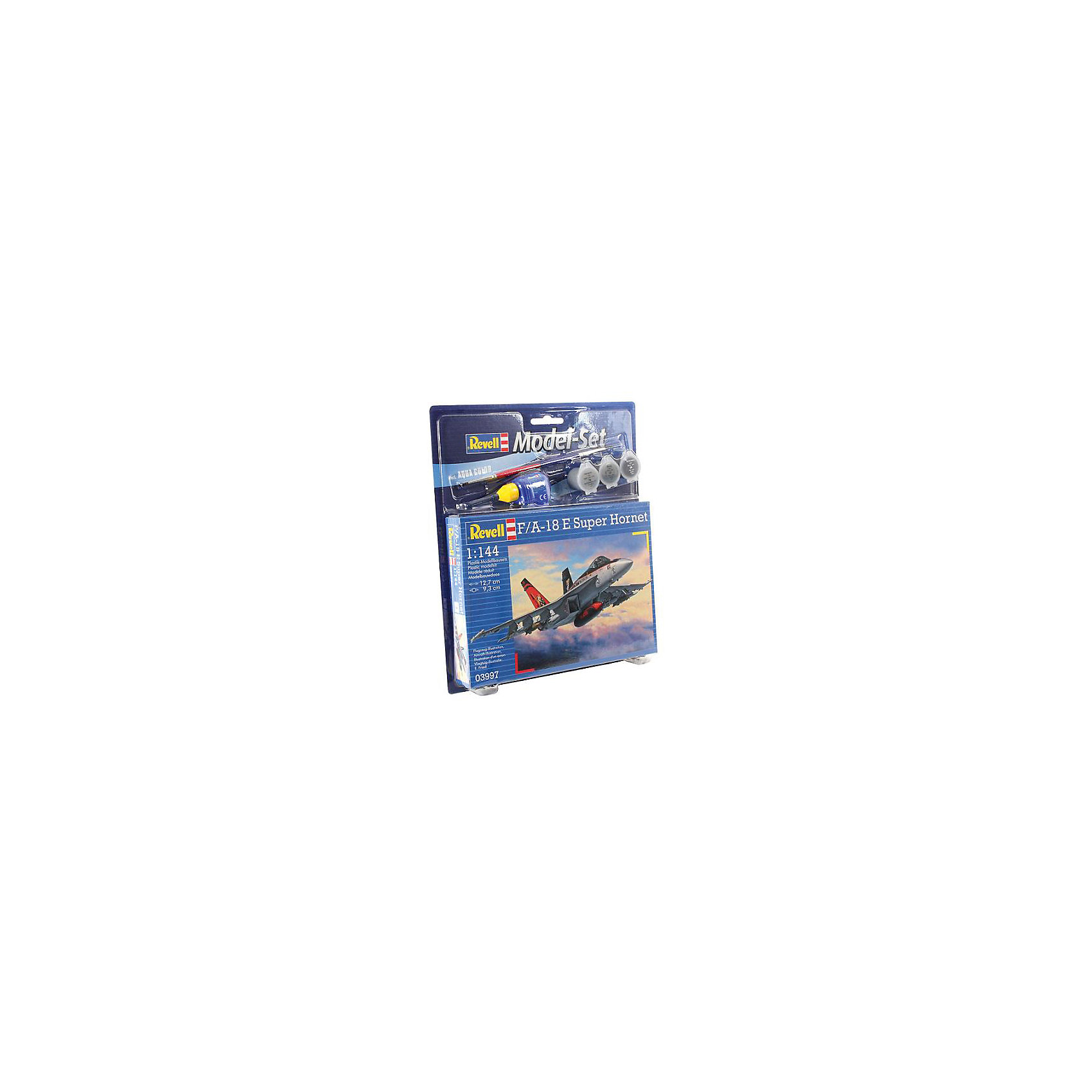 Revell Самолет Истребитель-бомбардировщик Боинг «Супер Хорнет», Revell самолеты и вертолеты revell набор со сборной моделью истребитель dassault rafale m
