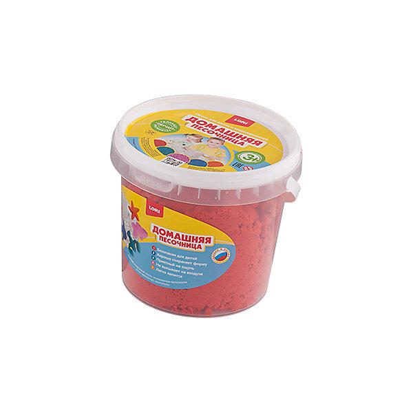 Домашняя песочница Красный песок 1 кг