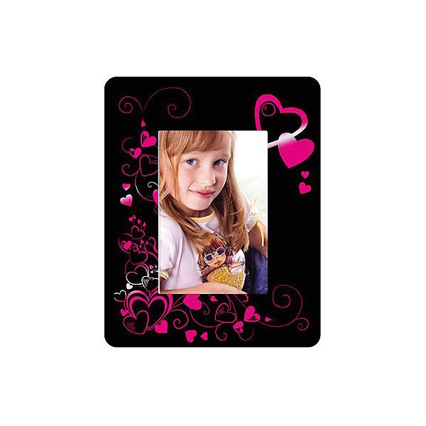 Фоторамка с эффектом розовый металлик Яркие сердечкиГравюры для детей<br>Гравюра - особый вид графического искусства. Сцарапывая верхний слой гравюры специальным штихелем, входящим в набор, ребёнок создает свою картину. Готовая фоторамка-гравюра обитателей будет отлично смотреться на стене или письменном столе или сможет стать памятным сувениром, сделанным своими руками. <br><br>Дополнительная информация:<br><br>- Размер упаковки: 20х30 см.<br>- Материал: картон, дерево.<br>- Комплектация: основа гравюры, штихель, инструкция. <br><br>Фоторамку с эффектом розовый металлик Яркие сердечки можно купить в нашем магазине.<br><br>Ширина мм: 320<br>Глубина мм: 215<br>Высота мм: 116<br>Вес г: 171<br>Возраст от месяцев: 72<br>Возраст до месяцев: 2147483647<br>Пол: Женский<br>Возраст: Детский<br>SKU: 4561182