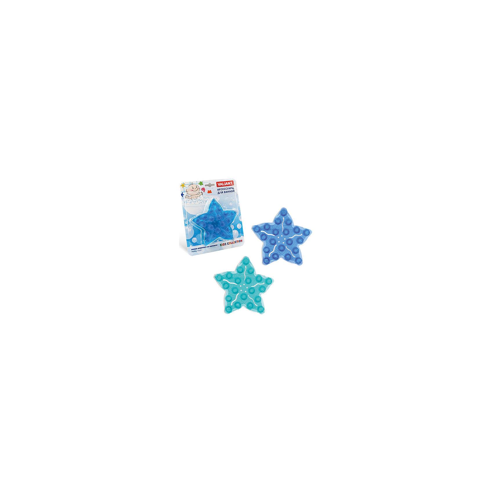 VALIANT Набор ковриков Морская звезда на присосках (6 шт)