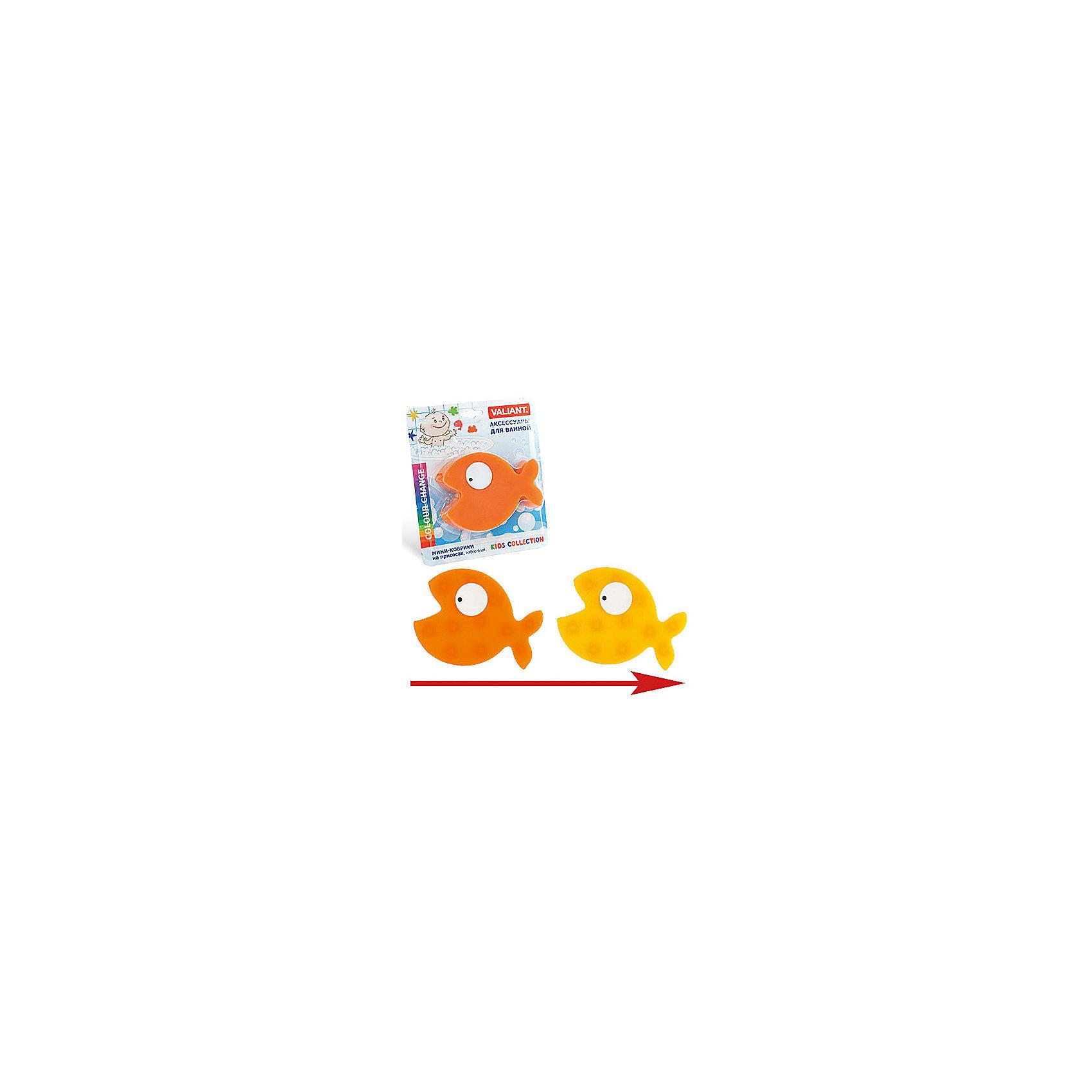 Набор ковриков Рыбка на присосках (6 шт)Мини-коврики для ванной комнаты - это яркое дополнение к купанию малыша. Это и игра и развитие моторики и изучение зверушек. <br>Колоссальный и постоянно растущий спрос на них обусловлен реакцией малышей и их мам на данное изобретение по всему миру.<br>Мини-коврики снабжены присосками и превосходно клеятся на влажный кафель.<br><br>Ширина мм: 170<br>Глубина мм: 35<br>Высота мм: 200<br>Вес г: 185<br>Возраст от месяцев: -2147483648<br>Возраст до месяцев: 2147483647<br>Пол: Унисекс<br>Возраст: Детский<br>SKU: 4563321