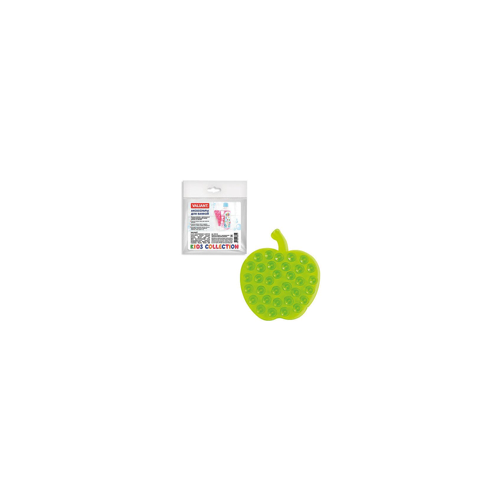 Полочка-липучка Зеленое яблочко с двусторонними присоскамиПолочка-липучка - это оригинальная игрушка для купания Вашего малыша, а так же функциональное решение по удобному креплению аксессуаров для ванной комнаты: шампуни, жидкое мыло, детские игрушки и  т.д.<br><br>Дополнительная информация: <br><br>- размер: 8.5* 9.5 см.<br>- материал: полимеры<br><br>Полочку-липучка Зеленое яблочко с двусторонними присосками можно купить в нашем интернет-магазине.<br><br>Ширина мм: 135<br>Глубина мм: 8<br>Высота мм: 160<br>Вес г: 15<br>Возраст от месяцев: -2147483648<br>Возраст до месяцев: 2147483647<br>Пол: Унисекс<br>Возраст: Детский<br>SKU: 4563399