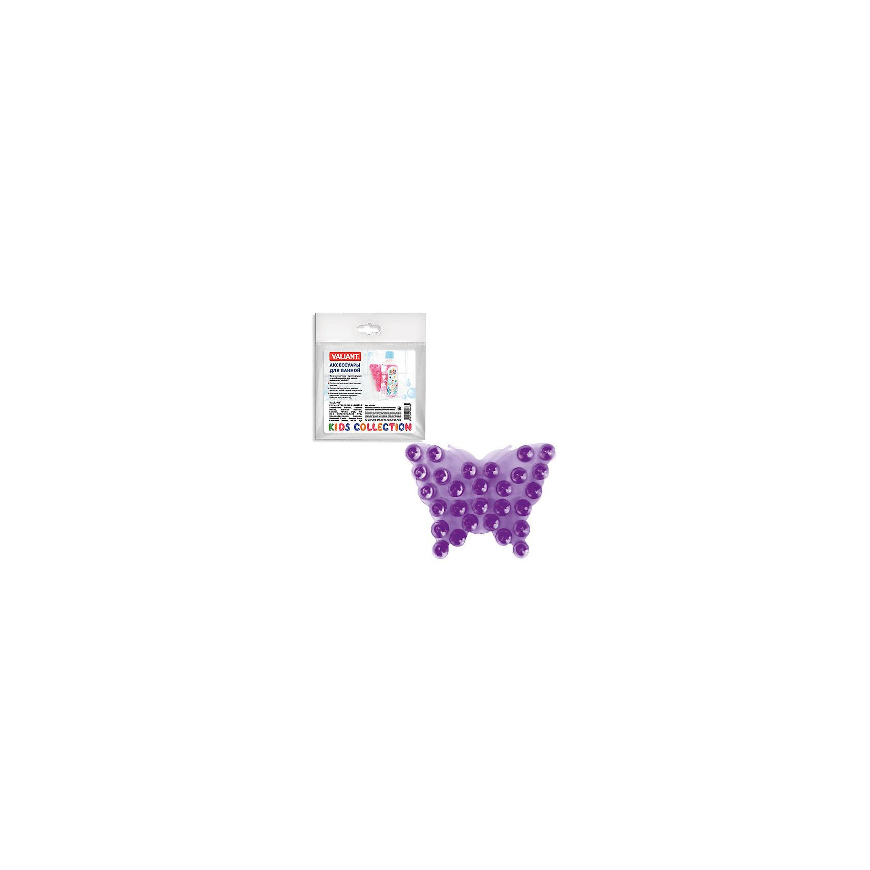 Полочка-липучка Фиолетовая бабочка с двусторонними присоскамиВанная комната<br>Полочка-липучка - это оригинальная игрушка для купания Вашего малыша, а так же функциональное решение по удобному креплению аксессуаров для ванной комнаты: шампуни, жидкое мыло и т.д.<br><br>Дополнительная информация:<br><br>- материал: полимеры<br>- размер: 10*7.5 см.<br><br>Полочку-липучка Фиолетовая бабочка с двусторонними присосками можно купить в нашем интернет-магазине.<br><br>Ширина мм: 135<br>Глубина мм: 8<br>Высота мм: 160<br>Вес г: 17<br>Возраст от месяцев: -2147483648<br>Возраст до месяцев: 2147483647<br>Пол: Унисекс<br>Возраст: Детский<br>SKU: 4563402