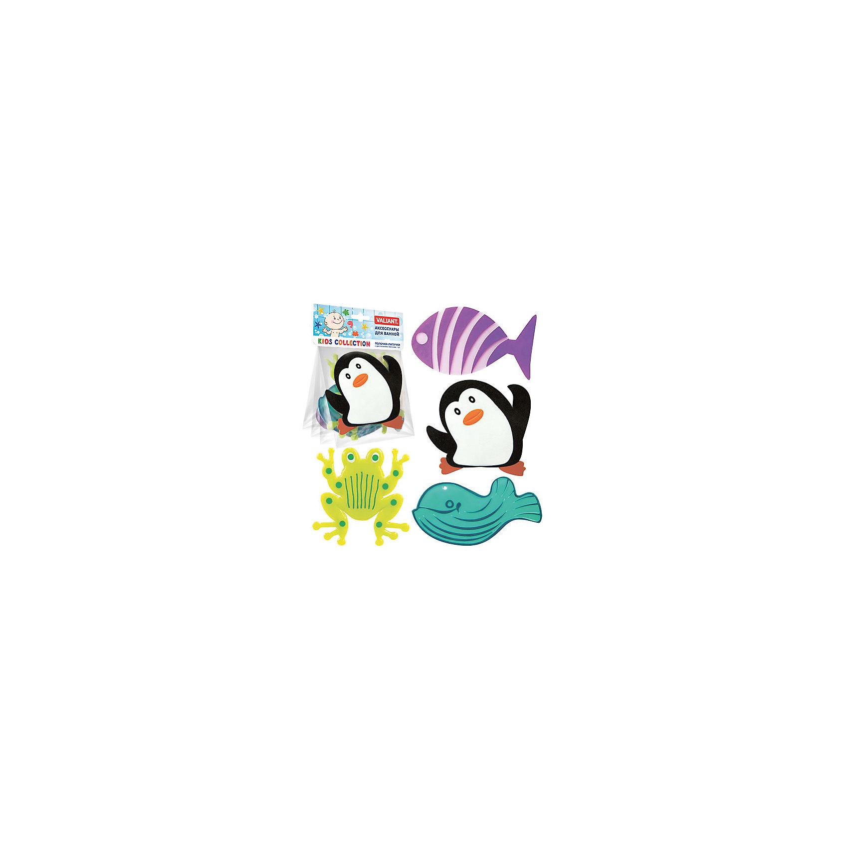 Набор ковриков Морская забава на присосках (4 шт)Ванная комната<br>Мини-коврики для ванной комнаты - это яркое дополнение к купанию малыша. Это и игра и развитие моторики и изучение зверушек. <br>Колоссальный и постоянно растущий спрос на них обусловлен реакцией малышей и их мам на данное изобретение по всему миру.<br>Мини-коврики снабжены присосками и превосходно клеятся на влажный кафель.<br><br>Ширина мм: 150<br>Глубина мм: 20<br>Высота мм: 190<br>Вес г: 140<br>Возраст от месяцев: -2147483648<br>Возраст до месяцев: 2147483647<br>Пол: Унисекс<br>Возраст: Детский<br>SKU: 4563418