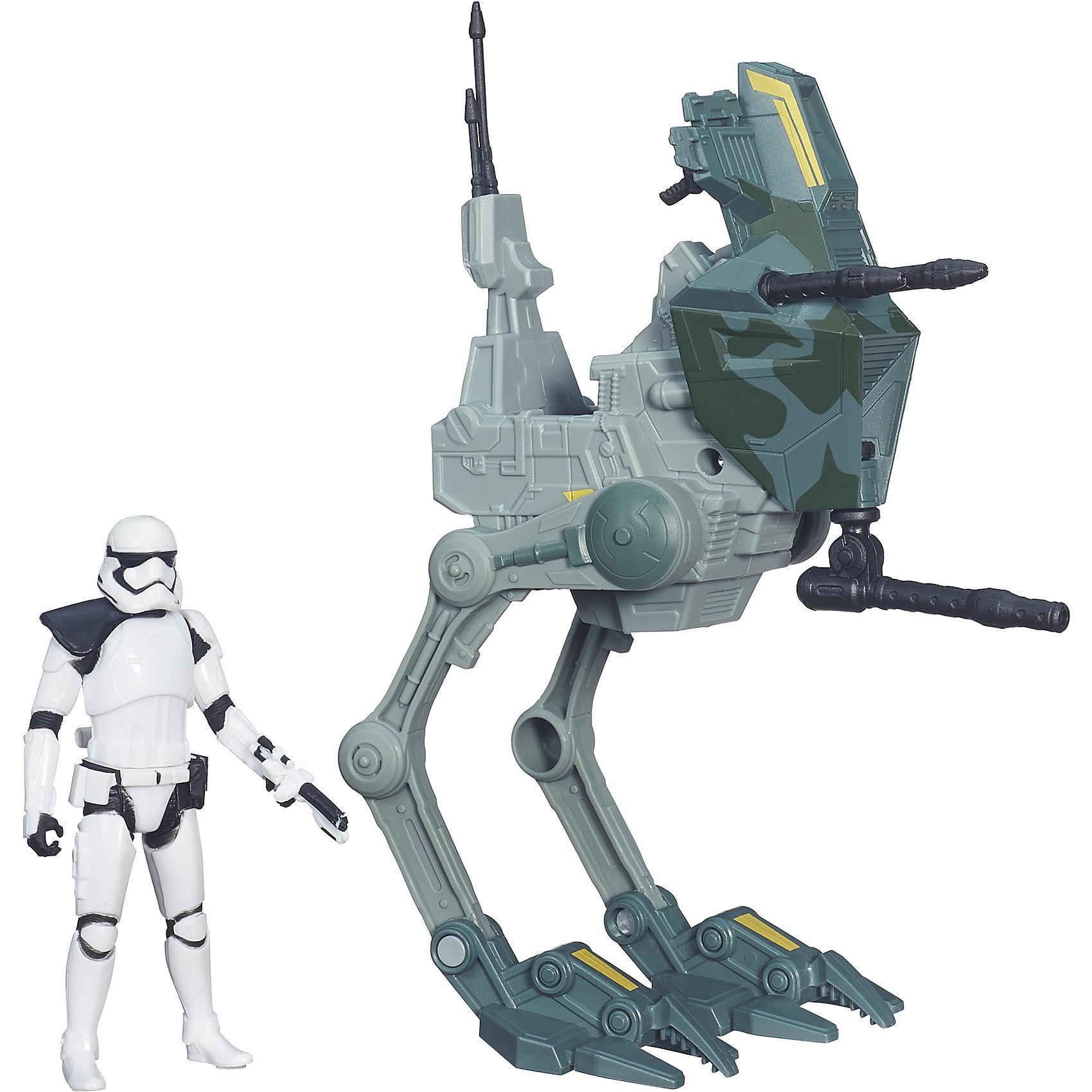 Космический корабль Класс I,  Звездные войны, B3717/B3716Игровые наборы<br>Этот набор приведет в восторг всех поклонников Star Wars. В него входит фигурка штурмовика и функциональный мощный шагоход, который  стремительно штурмует позиции противника и преследует убегающих врагов. Игрушка выполнена из высококачественного пластика, прекрасно детализирована, безопасна для детей. Собери все фигурки серии, открой для себя захватывающие истории борьбы добра со злом в галактике космических кораблей и машин!<br><br>Дополнительная информация:<br><br>- Комплектация: фигурка, шагоход, аксессуары.<br>- Материал: пластик.<br>- Голова, руки, ноги фигурки подвижные. <br>- Размер фигурки: 9,5 см.<br>- Размер упаковки: 29,7,5х22 см. <br><br>Набор Космический корабль Класс I,  Звездные войны (Star Wars) можно купить в нашем магазине.<br><br>Ширина мм: 83<br>Глубина мм: 294<br>Высота мм: 228<br>Вес г: 261<br>Возраст от месяцев: 36<br>Возраст до месяцев: 192<br>Пол: Мужской<br>Возраст: Детский<br>SKU: 4563911