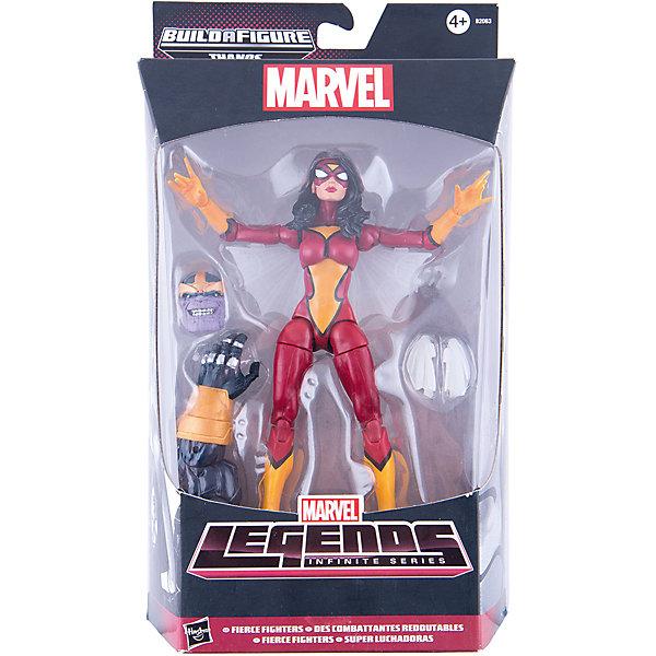 Коллекционная фигурка Марвел 15 см, Marvel Heroes, B2063/B0438Герои комиксов<br>Фигурка Женщины-Паука обязательно понравится всем поклонникам Marvel. Фигурка прекрасно детализирована, обладает большим числом точек артикуляции и подвижных соединений, что позволяет ей принимать разнообразные позы, открывая еще большие возможности для различных игровых сюжетов. Кроме того, в наборе - детали для сборки большого злодея Таноса. Собери все фигурки серии, собери фигурку Таноса и сразись с ним! <br><br>Дополнительная информация:<br><br>- Материал: пластик.<br>- Размер фигурки: 15 см.<br>- Подвижные конечности.<br>- Комплектация: фигурка Женщины-Паука, аксессуары, детали для фигурки Таноса.<br><br>Коллекционную фигурку Марвел 15 см, Marvel Heroes, можно купить в нашем магазине.<br>Ширина мм: 64; Глубина мм: 152; Высота мм: 267; Вес г: 220; Возраст от месяцев: 48; Возраст до месяцев: 192; Пол: Мужской; Возраст: Детский; SKU: 4563953;