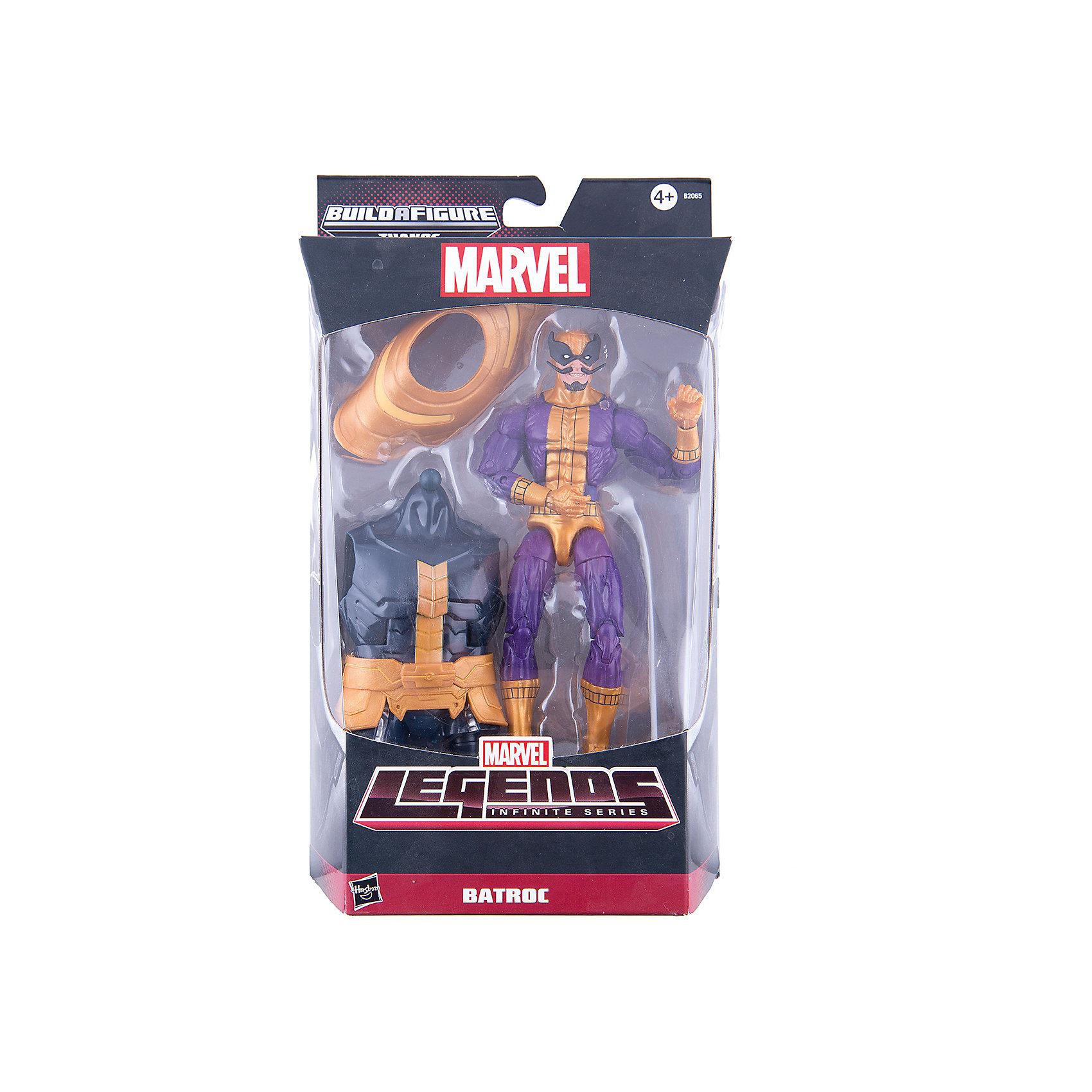 Коллекционная фигурка Марвел 15 см, Marvel Heroes, B2065/B0438Фигурка супер-злодея Батрока обязательно понравится всем поклонникам Marvel. Фигурка прекрасно детализирована, обладает большим числом точек артикуляции и подвижных соединений, что позволяет ей принимать разнообразные позы, открывая еще большие возможности для различных игровых сюжетов. Кроме того, в наборе - детали для сборки большого злодея Таноса. Собери все фигурки серии, собери фигурку Таноса и сразись с ним! <br><br>Дополнительная информация:<br><br>- Материал: пластик.<br>- Размер фигурки: 15 см.<br>- Подвижные конечности.<br>- Комплектация: фигурка Батрока, аксессуары, детали для фигурки Таноса.<br><br>Коллекционную фигурку Марвел 15 см, Marvel Heroes, можно купить в нашем магазине.<br><br>Ширина мм: 64<br>Глубина мм: 152<br>Высота мм: 267<br>Вес г: 220<br>Возраст от месяцев: 48<br>Возраст до месяцев: 192<br>Пол: Мужской<br>Возраст: Детский<br>SKU: 4563955