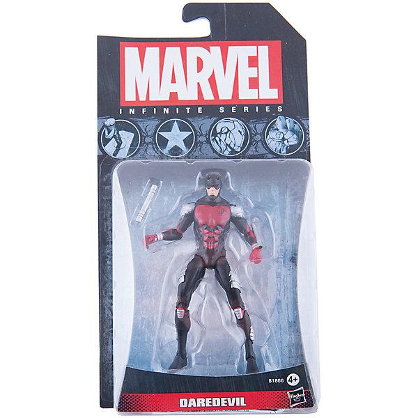 Коллекционная фигурка Марвел 9,5 см, Marvel Heroes, B1866/A6749Коллекционные и игровые фигурки<br>Фигурка супергероя - Сорвиголовы обязательно понравится всем поклонникам Marvel. Фигурка прекрасно детализирована, обладает подвижными конечностями и щупальцами, что позволяет ей принимать разнообразные позы, открывая еще большие возможности для различных игровых сюжетов. Игрушка изготовлена из высококачественного пластика, с применением безопасных, экологичных красителей. <br><br>Дополнительная информация:<br><br>- Материал: пластик.<br>- Размер фигурки: 9,5 см.<br>- Подвижные конечности.<br><br>Коллекционную фигурку Марвел 9,5 см, Marvel Heroes, можно купить в нашем магазине.<br>Ширина мм: 51; Глубина мм: 121; Высота мм: 229; Вес г: 150; Возраст от месяцев: 48; Возраст до месяцев: 192; Пол: Мужской; Возраст: Детский; SKU: 4563960;