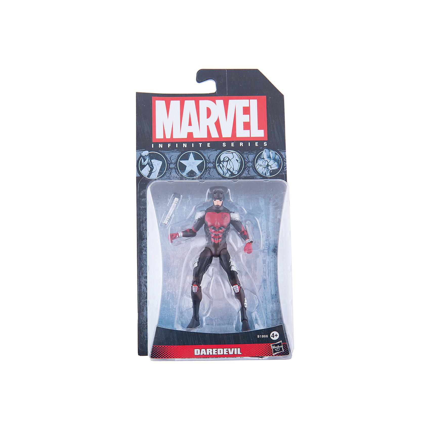Коллекционная фигурка Марвел 9,5 см, Marvel Heroes, B1866/A6749Игрушки<br>Фигурка супергероя - Сорвиголовы обязательно понравится всем поклонникам Marvel. Фигурка прекрасно детализирована, обладает подвижными конечностями и щупальцами, что позволяет ей принимать разнообразные позы, открывая еще большие возможности для различных игровых сюжетов. Игрушка изготовлена из высококачественного пластика, с применением безопасных, экологичных красителей. <br><br>Дополнительная информация:<br><br>- Материал: пластик.<br>- Размер фигурки: 9,5 см.<br>- Подвижные конечности.<br><br>Коллекционную фигурку Марвел 9,5 см, Marvel Heroes, можно купить в нашем магазине.<br><br>Ширина мм: 51<br>Глубина мм: 121<br>Высота мм: 229<br>Вес г: 150<br>Возраст от месяцев: 48<br>Возраст до месяцев: 192<br>Пол: Мужской<br>Возраст: Детский<br>SKU: 4563960