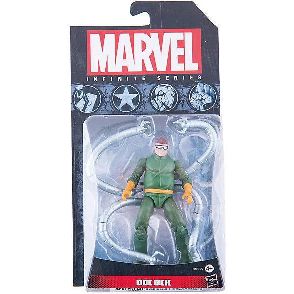 Коллекционная фигурка Марвел 9,5 см, Marvel Heroes, B1865/A6749Коллекционные фигурки<br>Фигурка Доктора Октавиуса, заклятого врага Человека-Паука, обязательно понравится всем поклонникам Marvel. Фигурка прекрасно детализирована, обладает подвижными конечностями и щупальцами, что позволяет ей принимать разнообразные позы, открывая еще большие возможности для различных игровых сюжетов. Игрушка изготовлена из высококачественного пластика, с применением безопасных, экологичных красителей. <br><br>Дополнительная информация:<br><br>- Материал: пластик.<br>- Размер фигурки: 9,5 см.<br>- Подвижные конечности.<br><br>Коллекционную фигурку Марвел 9,5 см, Marvel Heroes, можно купить в нашем магазине.<br><br>Ширина мм: 51<br>Глубина мм: 121<br>Высота мм: 229<br>Вес г: 150<br>Возраст от месяцев: 48<br>Возраст до месяцев: 192<br>Пол: Мужской<br>Возраст: Детский<br>SKU: 4563961