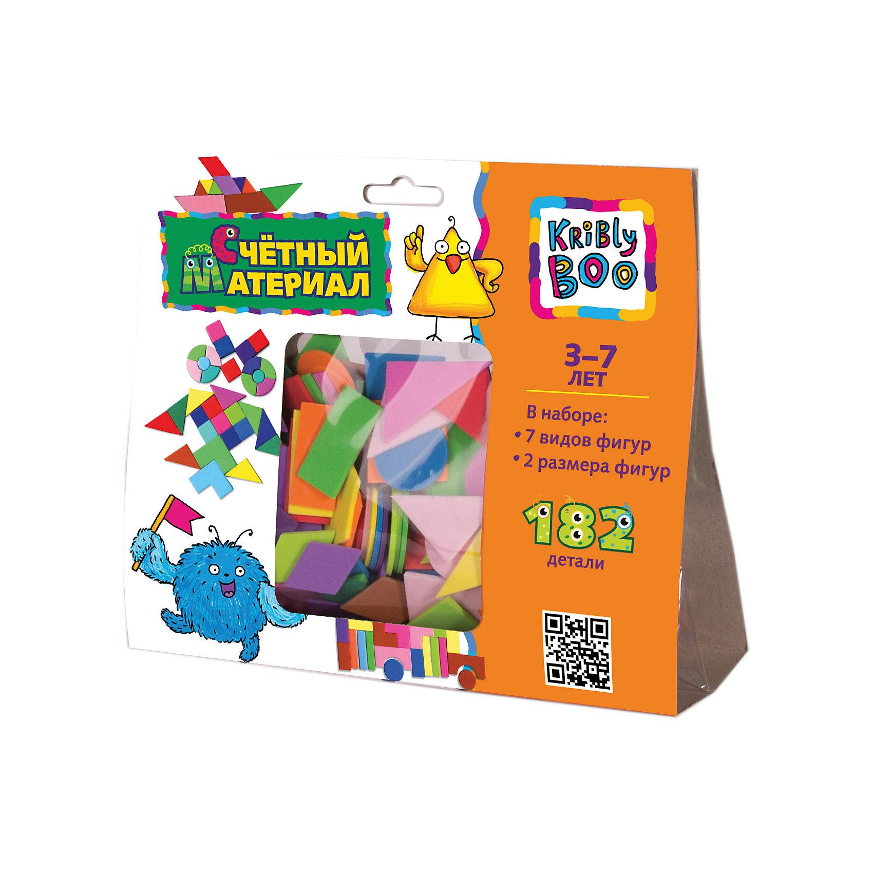 Счётный материал, 182 деталиДоски для рисования<br>Счётный материал, 182 детали – этот набор поможет Вашему малышу подготовиться к школе.<br>Набор мягких разноцветных геометрических фигур предназначен для тренировки навыков счета, знакомства с цветами и названиями фигур. С помощью элементов Вы можете наглядно показать ребенку, что такое много и мало, больше и меньше, большой и маленький. Дополнительно элементы комплекта можно использовать для выкладывания различных красочных узоров. Игра с таким набором тренирует память, логическое мышление и цветовосприятие, а также моторику ребенка.<br><br>Дополнительная информация:<br><br>- В наборе: 7 видов фигур, 2 размера фигур<br>- Количество деталей: 182<br>- Материал: вспененный полимер<br>- Размер упаковки: 210 х 180 х 70 мм.<br>- Вес: 50 гр.<br><br>Счётный материал, 182 детали можно купить в нашем интернет-магазине.<br><br>Ширина мм: 210<br>Глубина мм: 180<br>Высота мм: 70<br>Вес г: 50<br>Возраст от месяцев: 36<br>Возраст до месяцев: 2147483647<br>Пол: Унисекс<br>Возраст: Детский<br>SKU: 4564003
