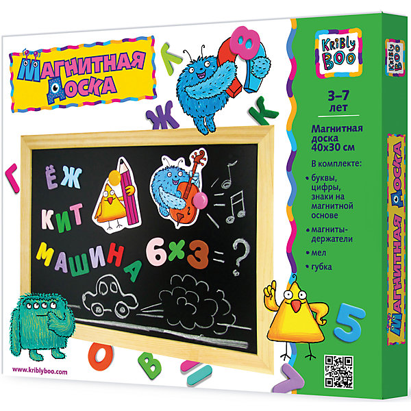 Магнитная доска в деревяной рамке, 30х40смКоврики и доски для рисования<br>Магнитная доска в деревянной рамке, 30х40см – это компактная черная магнитная доска для рисования и домашнего обучения.<br>С помощью этой магнитной доски можно научить ребенка начальному счету и решению примеров, показать ему буквы алфавита и научить складывать слова. На доске можно учиться писать и рисовать с помощью мелков, которые входят в комплект. Написанное легко стирается губкой. Доска компактна, не занимает много места, ее удобно брать с собой в дорогу или на детскую площадку. Магнитная доска с набором букв, цифр и знаков поможет подготовить ребенка к школе.<br><br>Дополнительная информация:<br><br>- В наборе: доска магнитная; набор букв, цифр, знаков на магнитной основе; мелки – 5 шт., магниты держатели, губка<br>- Размер магнитной доски: 30 х 40 см.<br>- Размер упаковки: 32 х 42 х 4 см.<br>- Вес: 889 гр.<br><br>Магнитную доску в деревянной рамке, 30х40см можно купить в нашем интернет-магазине.<br><br>Ширина мм: 320<br>Глубина мм: 420<br>Высота мм: 40<br>Вес г: 889<br>Возраст от месяцев: 36<br>Возраст до месяцев: 2147483647<br>Пол: Унисекс<br>Возраст: Детский<br>SKU: 4564013