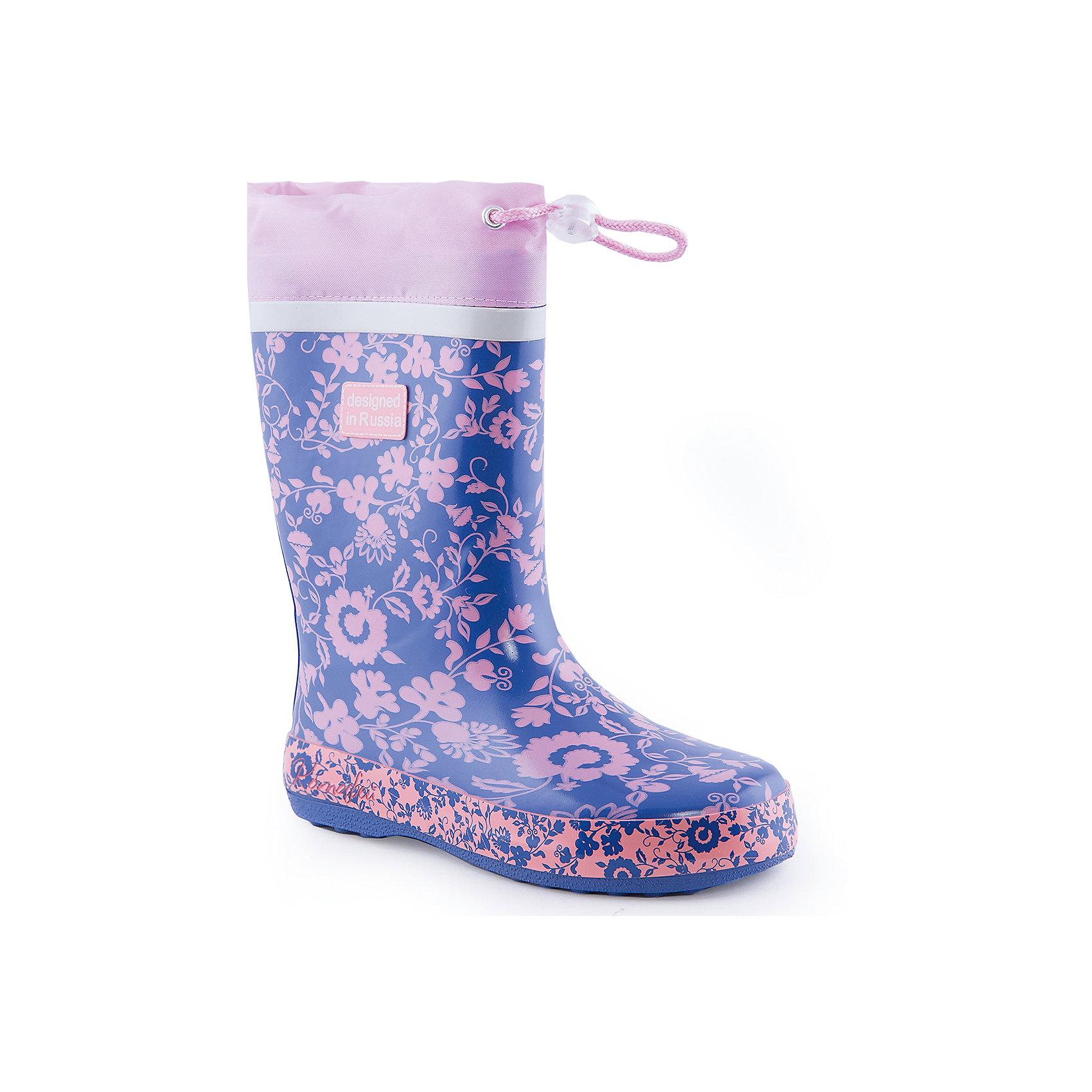 Резиновые сапоги для девочки КотофейСапожки для девочки от известного российского бренда Котофей <br><br>Яркие модные сапоги сделаны из качественной резины. Они позволят защитить ноги ребенка от сырости.<br>Высокое голенище с утяжкой защитит одежду от грязи и влаги.<br><br>Отличительные особенности модели:<br><br>- цвет: розовый, синий;<br>- удобная колодка;<br>- утяжка со стоппером на голенище;<br>- качественные материалы;<br>- толстая устойчивая подошва;<br>- сделаны с помощью горячей вулканизации;<br>- текстильная подкладка;<br>- декорированы принтом.<br><br>Дополнительная информация:<br><br>Температурный режим: от +5° С до +25° С.<br><br>Состав:<br>верх - резина;<br>подкладка - текстиль;<br>подошва - резина.<br><br>Сапожки для девочки Котофей можно купить в нашем магазине.<br><br>Ширина мм: 257<br>Глубина мм: 180<br>Высота мм: 130<br>Вес г: 420<br>Цвет: синий<br>Возраст от месяцев: 72<br>Возраст до месяцев: 84<br>Пол: Женский<br>Возраст: Детский<br>Размер: 30,35,34,33,32,31<br>SKU: 4565906