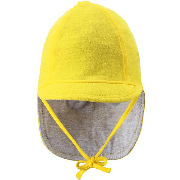 Шапка  ReimaШапки и шарфы<br>А вот и солнце! Защитите личико и шею младенца от негативного воздействия ультрафиолетовых лучей с помощью классической солцезащитной шляпы Sunproof.<br><br>Шапку  Reima (Рейма) можно купить в нашем магазине.<br><br>Ширина мм: 89<br>Глубина мм: 117<br>Высота мм: 44<br>Вес г: 155<br>Цвет: желтый<br>Возраст от месяцев: 1<br>Возраст до месяцев: 2<br>Пол: Унисекс<br>Возраст: Детский<br>Размер: 40,44,36<br>SKU: 4566045