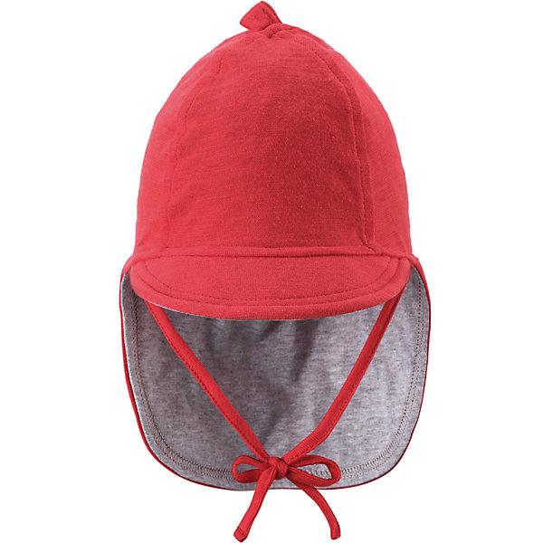 Шапка для девочки ReimaШапки и шарфы<br>А вот и солнце! Защитите личико и шею младенца от негативного воздействия ультрафиолетовых лучей с помощью классической солнцезащитной шляпы Sunproof.<br><br>Шапку  Reima (Рейма) можно купить в нашем магазине.<br><br>Ширина мм: 89<br>Глубина мм: 117<br>Высота мм: 44<br>Вес г: 155<br>Цвет: красный<br>Возраст от месяцев: 0<br>Возраст до месяцев: 1<br>Пол: Женский<br>Возраст: Детский<br>Размер: 36,40,44<br>SKU: 4566049