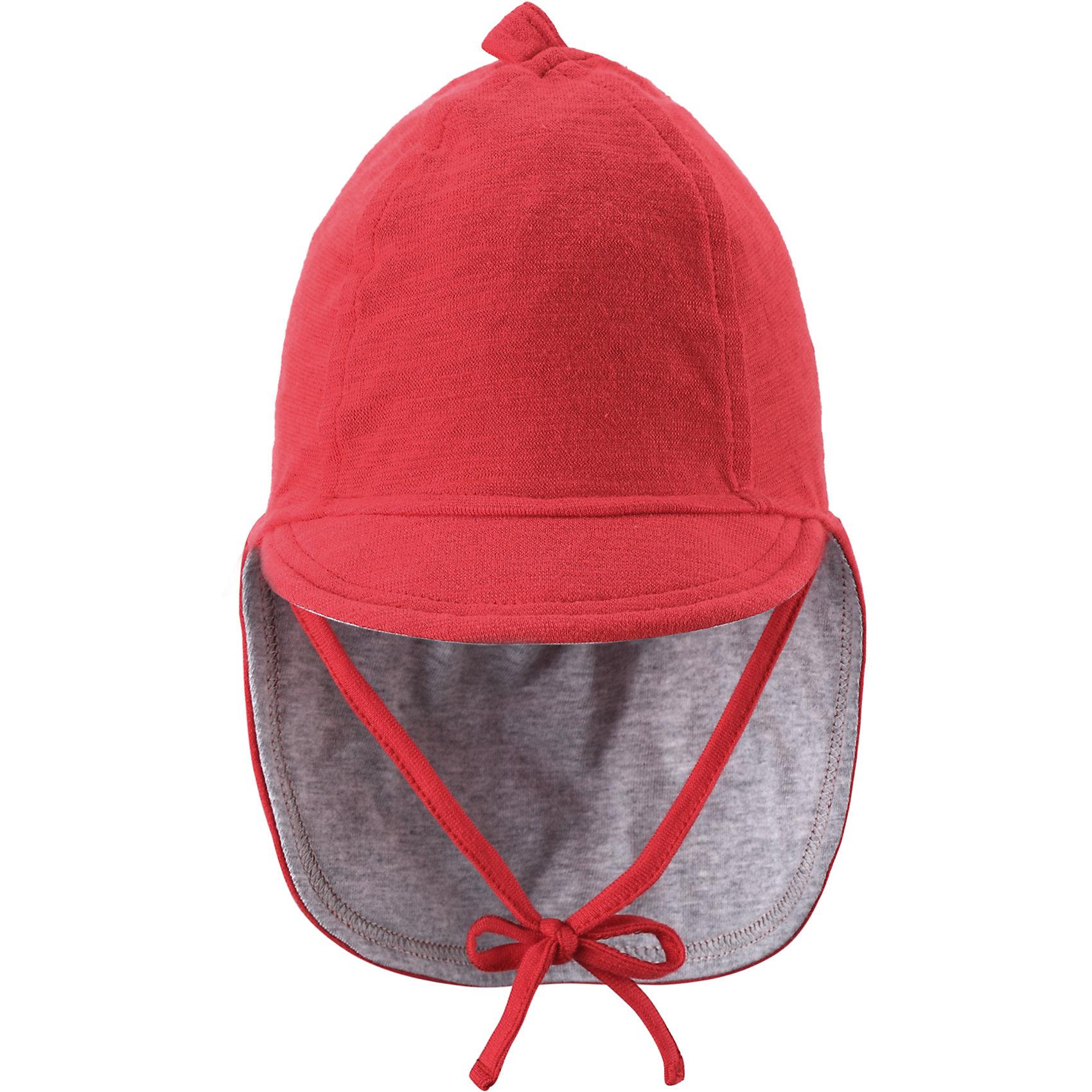 Шапка для девочки ReimaШапки и шарфы<br>А вот и солнце! Защитите личико и шею младенца от негативного воздействия ультрафиолетовых лучей с помощью классической солнцезащитной шляпы Sunproof.<br><br>Шапку  Reima (Рейма) можно купить в нашем магазине.<br><br>Ширина мм: 89<br>Глубина мм: 117<br>Высота мм: 44<br>Вес г: 155<br>Цвет: красный<br>Возраст от месяцев: 1<br>Возраст до месяцев: 2<br>Пол: Женский<br>Возраст: Детский<br>Размер: 40,36,44<br>SKU: 4566049