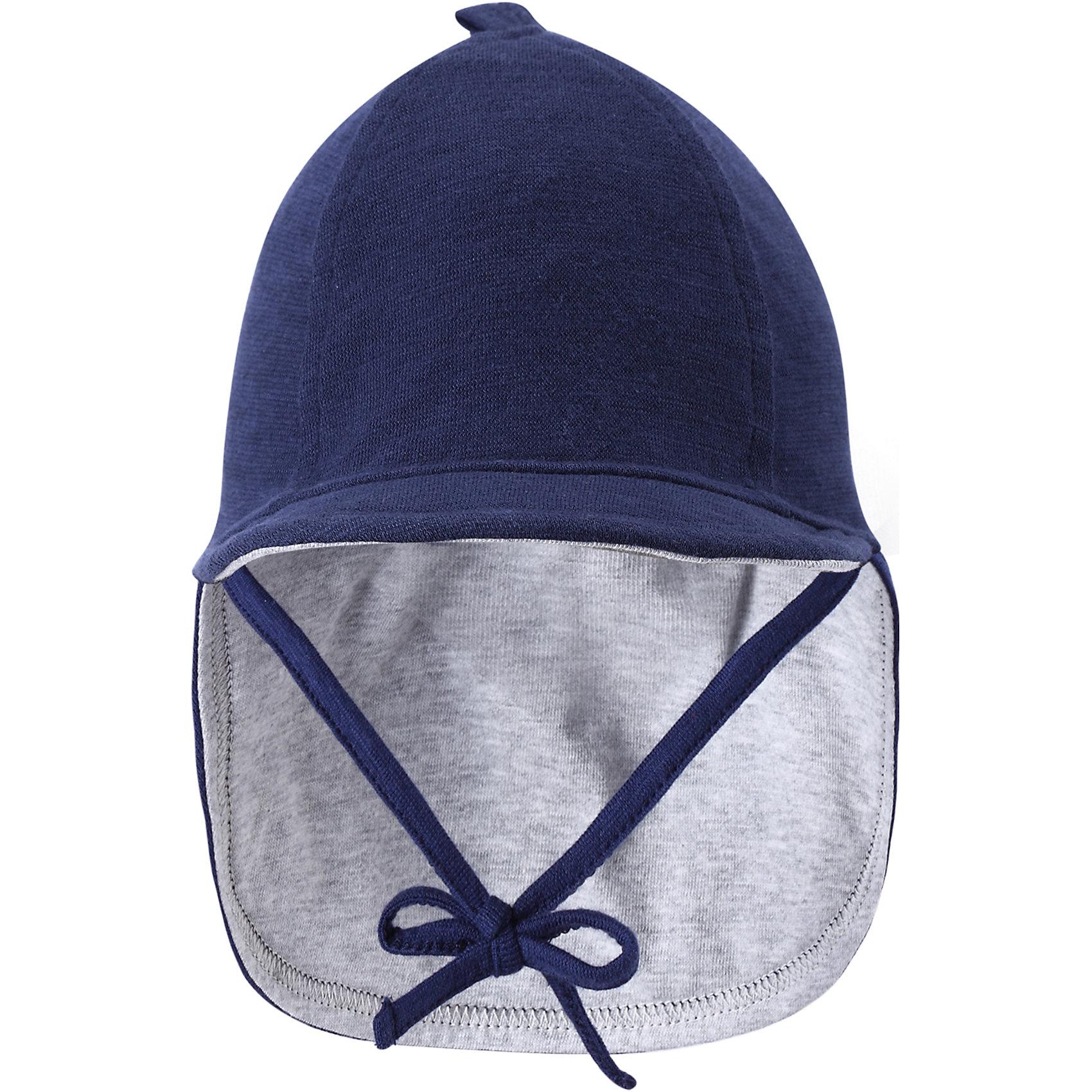 Шапка  ReimaШапки и шарфы<br>А вот и солнце! Защитите личико и шею младенца от негативного воздействия ультрафиолетовых лучей с помощью классической солнцезащитной шляпы Sunproof.<br><br>Шапку  Reima (Рейма) можно купить в нашем магазине.<br><br>Ширина мм: 89<br>Глубина мм: 117<br>Высота мм: 44<br>Вес г: 155<br>Цвет: синий<br>Возраст от месяцев: 4<br>Возраст до месяцев: 6<br>Пол: Мужской<br>Возраст: Детский<br>Размер: 44,40,36<br>SKU: 4566053