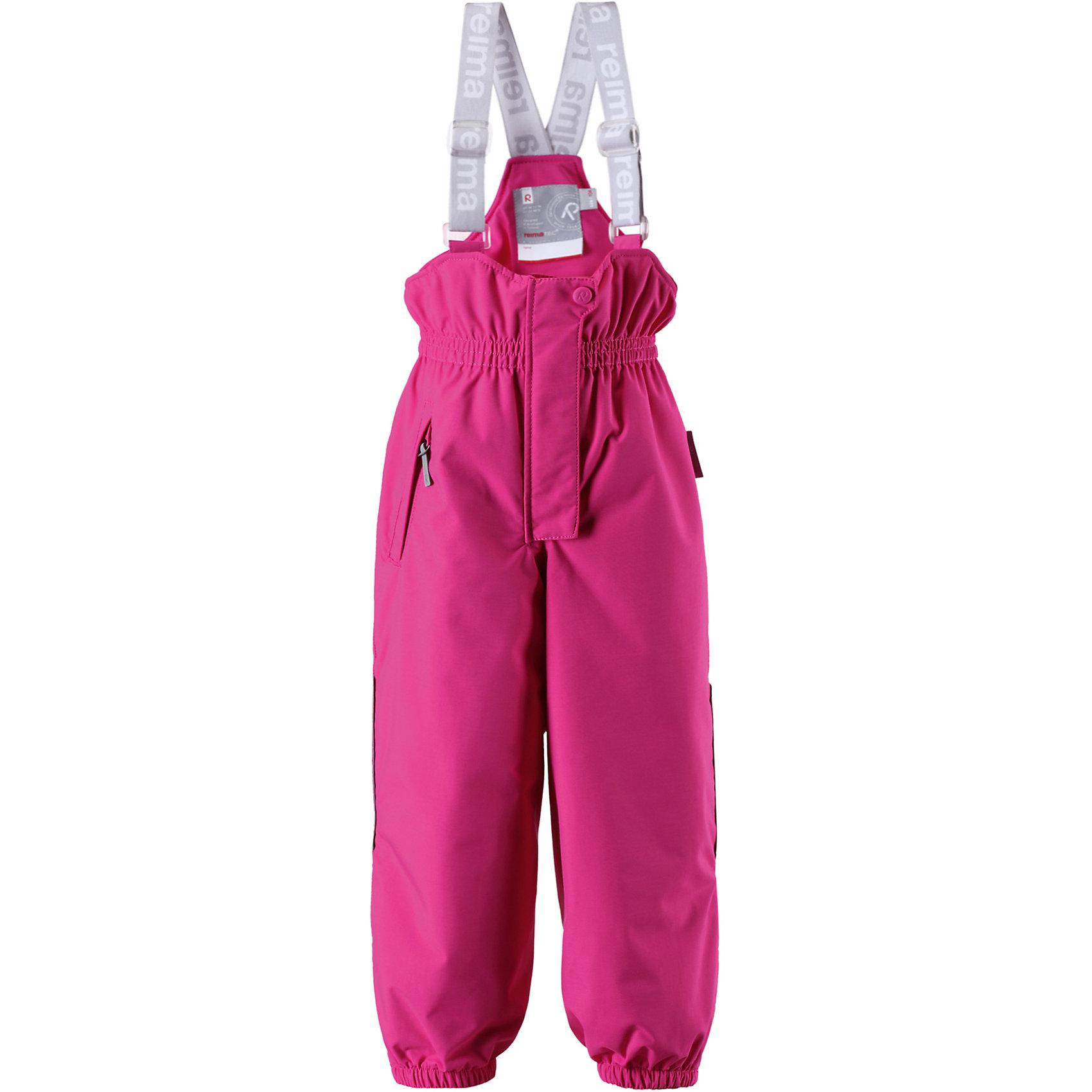 Брюки Reimatec ReimaПопулярные, прочные брюки с подтяжками для активного отдыха. Водонепроницаемые и дышащие.<br><br>Дополнительная информация:<br><br>Температурный режим: до -20<br>Средняя степень утепления (120 г)<br>Брюки для детей Reimatec (Рейматек), модель Original<br>Все швы проклеены<br>Прочный материал<br>Высокая талия с регулируемыми подтяжками<br>Один карман на молнии<br>Прочные силиконовые штрипки<br><br>Брюки Reimatec (Рейматек) Reima (Рейма) можно купить в нашем магазине.<br><br>Ширина мм: 215<br>Глубина мм: 88<br>Высота мм: 191<br>Вес г: 336<br>Цвет: розовый<br>Возраст от месяцев: 72<br>Возраст до месяцев: 84<br>Пол: Унисекс<br>Возраст: Детский<br>Размер: 122,116,128,92,98,104,110<br>SKU: 4566080