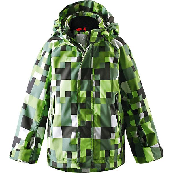 Куртка для девочки Reimatec ReimaОдежда<br>Спортивная демисезонная куртка для круглогодичного использования, будь то дождь или солнечная погода. Добавив теплые средние слои, можно использовать куртку и в холодную погоду – обратите внимание на удобную систему кнопочных застежек Play Layers®, которая поможет легко пристегнуть к куртке несколько средних слоев Reima®. Высококачественный водонепроницаемый и дышащий материал сетчатой подкладки добавляет удобства. Съемный капюшон и светоотражающие детали обеспечивают безопасность во время игр на открытом воздухе, а карманы на молнии идеально сохраняют маленькие предметы.<br><br>Дополнительная информация:<br><br>Водонепроницаемость: 15000 мм<br>Куртка демисезонная для детей<br>Все швы проклеены и водонепроницаемы<br>Водо- и ветронепроницаемый, «дышащий» и грязеотталкивающий материал<br>Подкладка из mesh-сетки<br>Безопасный, отстегивающийся и регулируемый капюшон<br>Два кармана на молнии<br>Безопасные светоотражающие детали<br><br>Куртку для девочки Reima (Рейма) можно купить в нашем магазине.<br><br>Ширина мм: 356<br>Глубина мм: 10<br>Высота мм: 245<br>Вес г: 519<br>Цвет: зеленый<br>Возраст от месяцев: 36<br>Возраст до месяцев: 48<br>Пол: Женский<br>Возраст: Детский<br>Размер: 104,110,134,140<br>SKU: 4566275