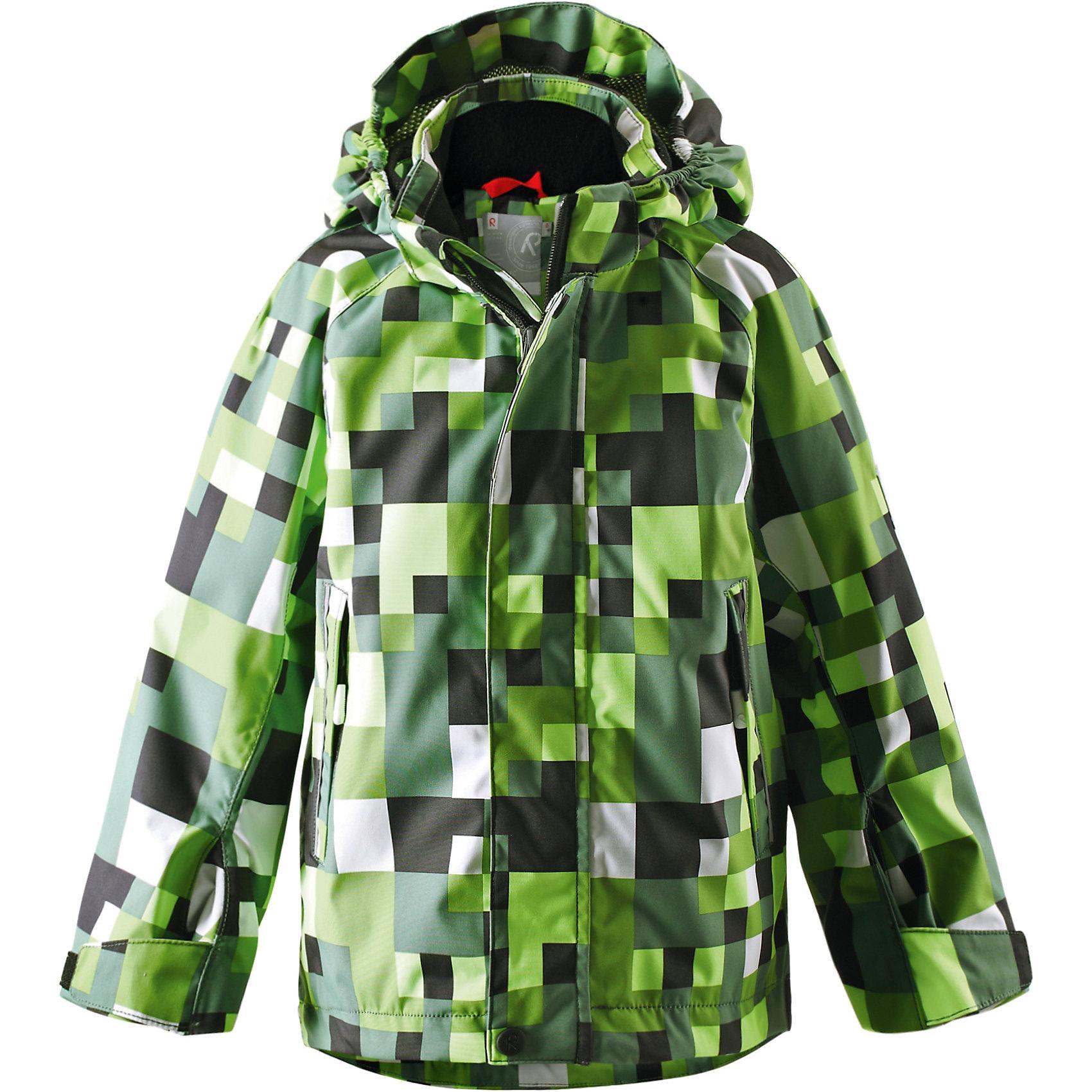 Куртка для девочки Reimatec ReimaОдежда<br>Спортивная демисезонная куртка для круглогодичного использования, будь то дождь или солнечная погода. Добавив теплые средние слои, можно использовать куртку и в холодную погоду – обратите внимание на удобную систему кнопочных застежек Play Layers®, которая поможет легко пристегнуть к куртке несколько средних слоев Reima®. Высококачественный водонепроницаемый и дышащий материал сетчатой подкладки добавляет удобства. Съемный капюшон и светоотражающие детали обеспечивают безопасность во время игр на открытом воздухе, а карманы на молнии идеально сохраняют маленькие предметы.<br><br>Дополнительная информация:<br><br>Водонепроницаемость: 15000 мм<br>Куртка демисезонная для детей<br>Все швы проклеены и водонепроницаемы<br>Водо- и ветронепроницаемый, «дышащий» и грязеотталкивающий материал<br>Подкладка из mesh-сетки<br>Безопасный, отстегивающийся и регулируемый капюшон<br>Два кармана на молнии<br>Безопасные светоотражающие детали<br><br>Куртку для девочки Reima (Рейма) можно купить в нашем магазине.<br><br>Ширина мм: 356<br>Глубина мм: 10<br>Высота мм: 245<br>Вес г: 519<br>Цвет: зеленый<br>Возраст от месяцев: 96<br>Возраст до месяцев: 108<br>Пол: Женский<br>Возраст: Детский<br>Размер: 134,140,110,104<br>SKU: 4566275