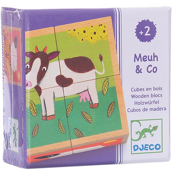 Кубики «Ферма», DJECOКубики<br>Кубики Ферма, Djeco (Джеко) - классическая, всеми любимая детская игрушка, представленная в ярком красочном варианте. Собрав 4 кубика вместе, малыш увидит красочную картинку. Каждая собранная сторона изображает забавную милую зверюшку. Дети смогут весело провести время за игрой и познакомиться с домашними животными, живущими на ферме. Игра развивает мелкую моторику, пространственные навыки, ловкость и координацию движений.<br><br>Дополнительная информация:<br><br>- В комплекте: 4 кубика.<br>- Материал: дерево.<br>- Размер кубика: 9 х 9 х 4,5 см.<br>- Размер упаковки: 10,4 х 10,4 х 5 см.<br>- Вес: 0,43 кг. <br><br>Кубики Ферма, Djeco (Джеко), можно купить в нашем магазине.<br>Ширина мм: 110; Глубина мм: 110; Высота мм: 50; Вес г: 430; Возраст от месяцев: 24; Возраст до месяцев: 60; Пол: Унисекс; Возраст: Детский; SKU: 4566281;