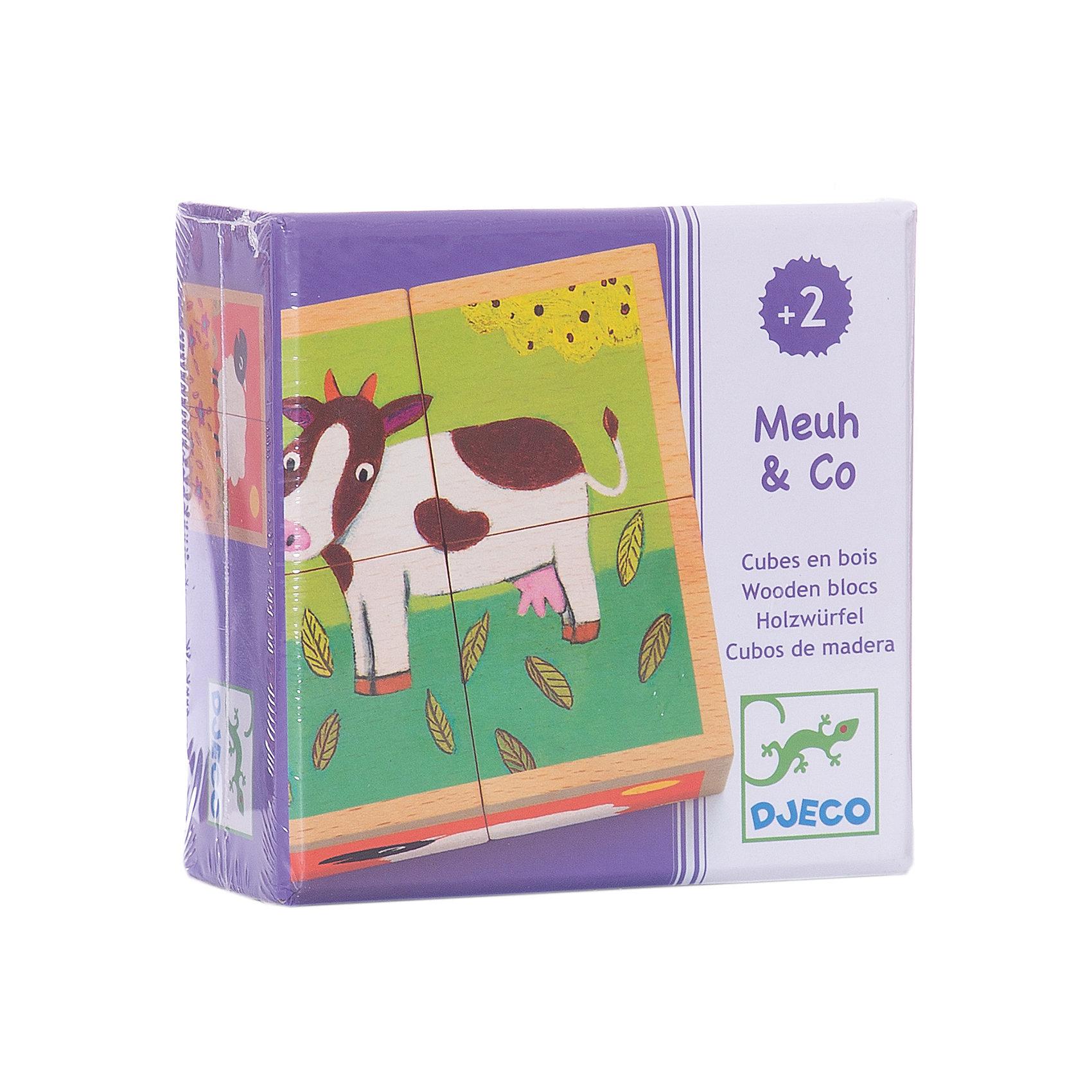 Кубики «Ферма», DJECOКубики<br>Кубики Ферма, Djeco (Джеко) - классическая, всеми любимая детская игрушка, представленная в ярком красочном варианте. Собрав 4 кубика вместе, малыш увидит красочную картинку. Каждая собранная сторона изображает забавную милую зверюшку. Дети смогут весело провести время за игрой и познакомиться с домашними животными, живущими на ферме. Игра развивает мелкую моторику, пространственные навыки, ловкость и координацию движений.<br><br>Дополнительная информация:<br><br>- В комплекте: 4 кубика.<br>- Материал: дерево.<br>- Размер кубика: 9 х 9 х 4,5 см.<br>- Размер упаковки: 10,4 х 10,4 х 5 см.<br>- Вес: 0,43 кг. <br><br>Кубики Ферма, Djeco (Джеко), можно купить в нашем магазине.<br><br>Ширина мм: 110<br>Глубина мм: 110<br>Высота мм: 50<br>Вес г: 430<br>Возраст от месяцев: 24<br>Возраст до месяцев: 60<br>Пол: Унисекс<br>Возраст: Детский<br>SKU: 4566281