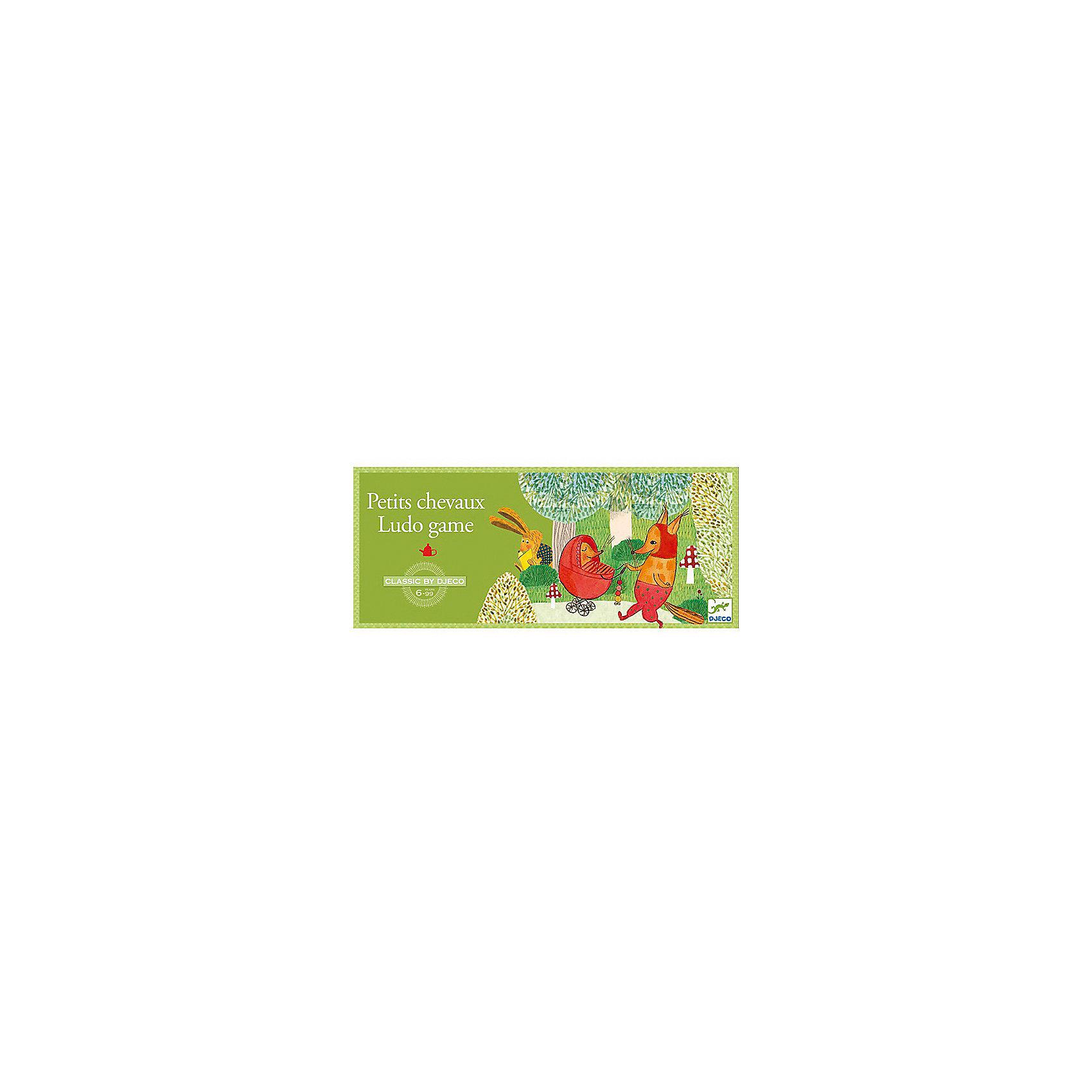 Игра Лидо, DJECOДеревянные игры и пазлы<br>Игра Лидо, Djeco (Джеко)- веселая и увлекательная настольная игра, которая надолго займет внимание детей и не даст им заскучать. В комплект входит игровое поле, 16 фишек четырех разных цветов и кубик. Цель игры состоит в том, чтобы первым привести в центр поля свои 4 фишки. В игре могут участвовать от 2 до 4 игроков. Перед началом игры каждый участник ставит свои фишки на базу (где изображено животное его цвета). Чтобы вывести фишку с базы и поставить ее на клетку старт, игрок должен выбросить шестерку на кубике. Первый ход делает самый младший игрок. После вывода фишки на игровую дорожку игрок перемещает ее на количество клеток, равное числу, выпавшему на кубике. Если игрок вывел на дорожку несколько разных фишек, он сам решает, какой фишкой ходить. Если игрок выбросил шестерку, он может либо вывести с базы еще одну фишку, либо переместить на 6 клеток уже выведенную фишку. В случае, когда число, выпавшее на кубике, позволяет игроку поставить свою фишку на клетку, уже занятую другой фишкой, он съедает эту фишку: его фишка занимает эту клетку, а фишка соперника отправляется на свою базу. Пройдя полный круг по игровому полю, фишки встают на последнюю клетку круга у подножия лестницы с клетками, пронумерованными от 1 до 6. Игрок, который первым вывел свои 4 фишки с поля, побеждает в игре. <br><br>Дополнительная информация:<br><br>- В комплекте: 1 игровое поле, 16 фишек, 1 кубик.<br>- Материал: пластик, картон, дерево.<br>- Размер упаковки: 38 x 16 x 3 см.<br><br>Игру Лидо, Djeco (Джеко), можно купить в нашем магазине.<br><br>Ширина мм: 30<br>Глубина мм: 380<br>Высота мм: 160<br>Вес г: 550<br>Возраст от месяцев: 60<br>Возраст до месяцев: 96<br>Пол: Унисекс<br>Возраст: Детский<br>SKU: 4566293