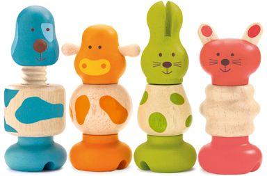 Набор игрушек Животные, DJECO