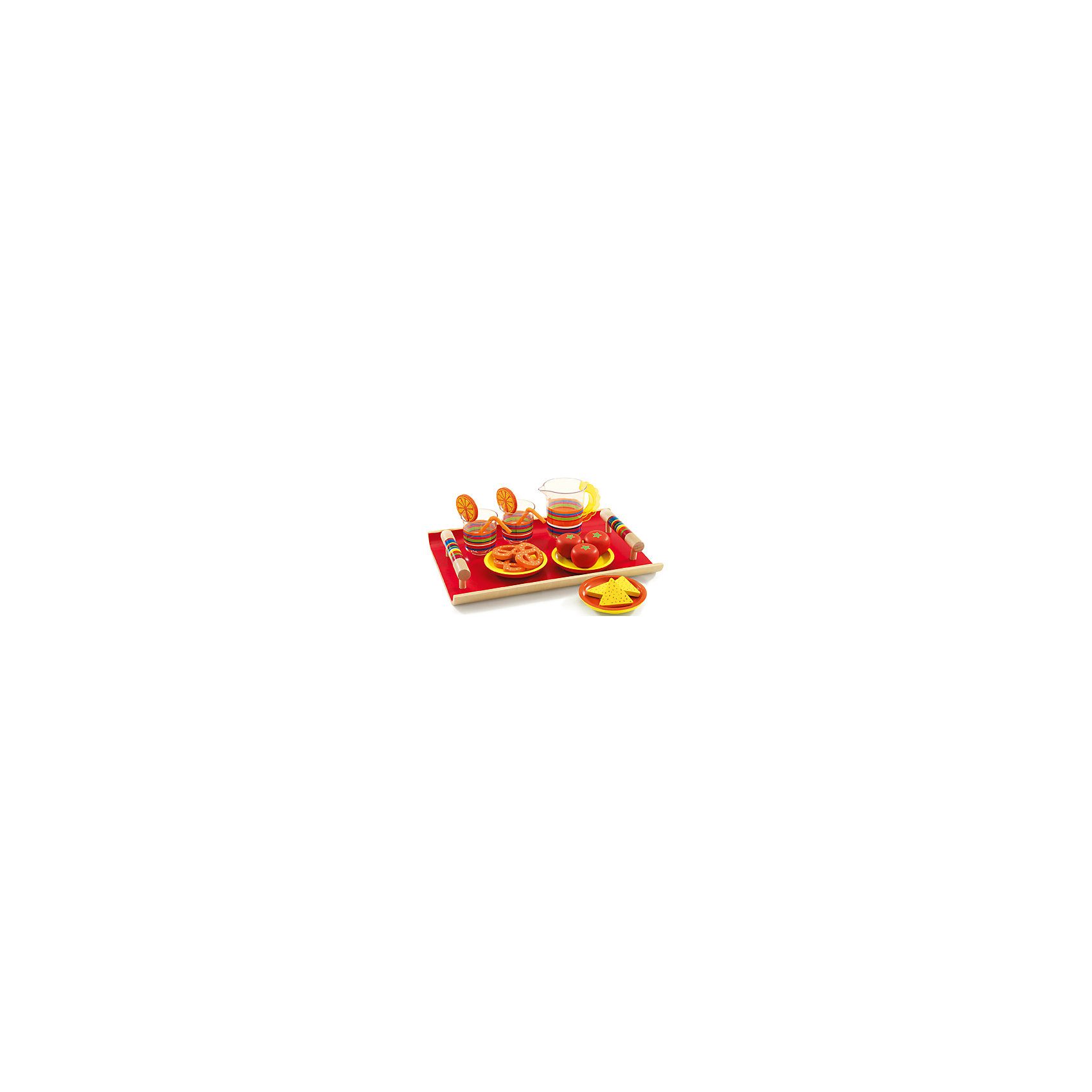 DJECO Сюжетно - ролевая игра Ланч, DJECO настольные игры djeco игра лото дом