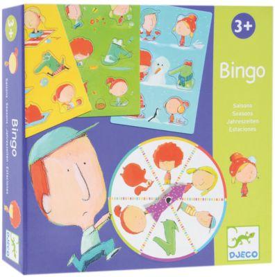 Игра Бинго Времена года, DJECO