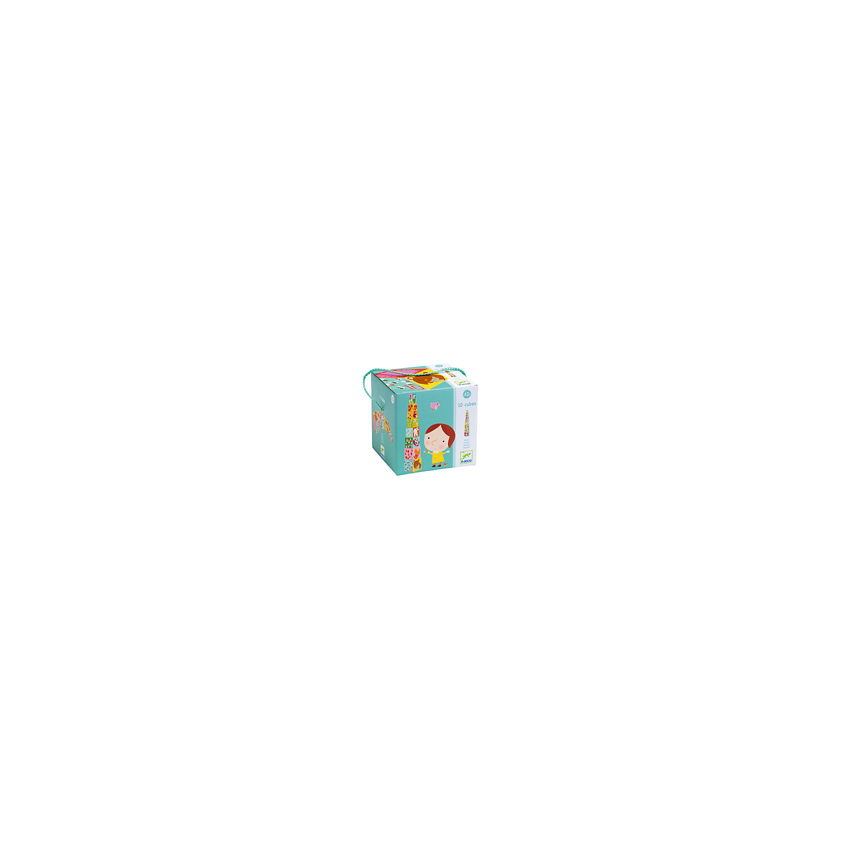 Кубики-пирамида Лес , DJECOПирамидки<br>Кубики-пирамида Лес, Djeco (Джеко) - классическая, всеми любимая детская игрушка, представленная в новом оригинальном варианте. В комплект входят кубики разной величины и расцветки, на гранях каждого изображены забавные животные, цифры и различные предметы в количестве, равном указанной цифре. Таким образом, ребенок в веселой игровой форме знакомится с цифрами и учится считать. Благодаря разным размерам кубиков малыш сможет соорудить из них высокую башню (высотой до 1 м.), выстроить длинную дорожку или соорудить лабиринт. А  после окончания игры кубики компактно складываются один в другой. Набор выполнен из плотного картона высокого качества, безопасного для здоровья ребенка. Кубики Djeco (Джеко) развивают координацию движений, мелкую моторику, пространственное мышление, помогают объяснить<br>ребенку разницу цветов, форм и размеров, а также обучить счёту. <br><br>Дополнительная информация:<br><br>- В комплекте: 10 кубиков.<br>- Материал: ламинированный картон.<br>- Размер упаковки: 14,5 х 14,5 х 14,5 см.<br>- Вес: 0,68 кг. <br><br>Кубики-пирамиду Лес, Djeco (Джеко), можно купить в нашем магазине.<br><br>Ширина мм: 150<br>Глубина мм: 150<br>Высота мм: 150<br>Вес г: 680<br>Возраст от месяцев: 12<br>Возраст до месяцев: 48<br>Пол: Унисекс<br>Возраст: Детский<br>SKU: 4566309