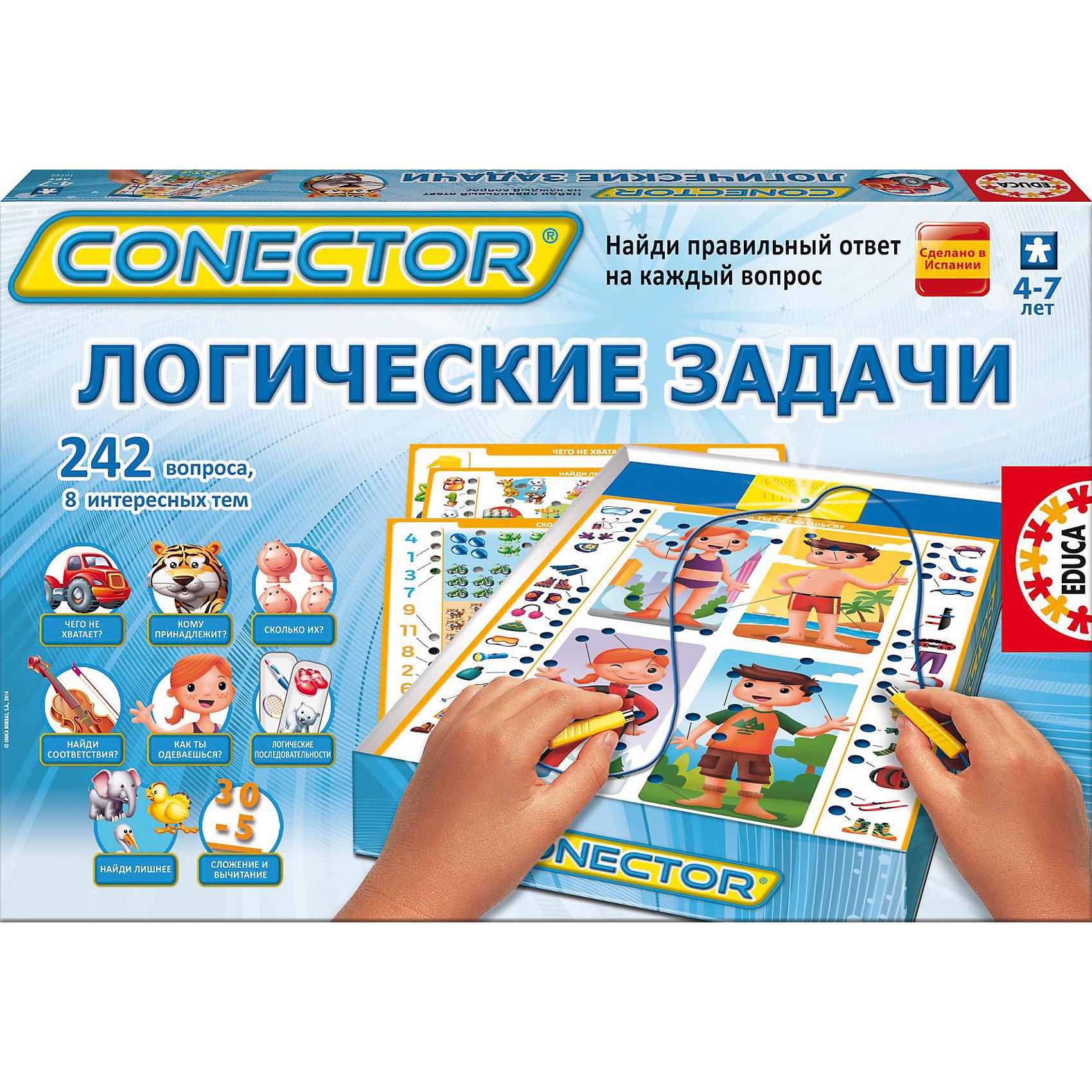 Educa Электровикторина  Логические задачи, Educa логические игрушки