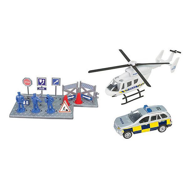 Полицейская команда, HTl GrоuрМашинки<br>Игровой набор «Спасательная команда» от британского бренда HTI представлен двумя вариациями – полицейские с вертолетом и машиной и пожарная команда со своей профессиональной техникой и атрибутами. Вы можете приобрести один из них, или пополнить коллекцию обеими.<br>Такой набор рекомендуется производителем для детей от 3 лет, но идеально подойдет и для взрослых коллекционеров масштабных моделей. Высокая степень детализации и безопасность игрушек – результат качественной работы и использования экологически чистых материалов. Игрушки отвечают строжайшим европейским стандартам качества.<br><br>Дополнительная информация:<br><br>Комплект: полицейский автомобиль, вертолет, аксессуары.<br>Материал: пластик.<br>Размер упаковки: 10.2 х 11.5 х 36.2 см.<br><br>Полицейская команда, HTl Grоuр можно купить в нашем магазине.<br><br>Ширина мм: 36<br>Глубина мм: 10<br>Высота мм: 12<br>Вес г: 180<br>Возраст от месяцев: 36<br>Возраст до месяцев: 96<br>Пол: Мужской<br>Возраст: Детский<br>SKU: 4574041