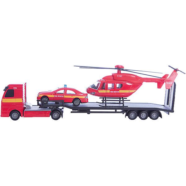 Перевозчик с машиной и вертолетом, HTl GrоuрСамолёты и вертолёты<br>Игра в машинки это не только прекрасное развлечение для мальчиков, но и способ развить моторику, опорно-двигательный аппарат, логическое мышление, координацию. Важно, чтобы игрушки были безопасны для малышей, качественно выполнены, чтобы не сломаться в первый же день и не вызвать слез и досады у ребенка. <br>Всем этим требованиям отвечают машинки компании HTI. Высокие европейские стандарты залог высокого качества. <br>Игровой набор «Транспортер строительной техники» это мини-копия грузовика, который везет в своем прицепе 2 маленьких трактора. Высокая степень детализации сделает игру интереснее, а яркий цвет поможет развить цветовое восприятие. <br><br>Дополнительная информация:<br><br>Комплект: перевозчик, легковой автомобиль, вертолет.<br>Материал: пластик.<br><br>Перевозчик с машиной и вертолетом, HTl Grоuр можно купить в нашем магазине.<br>Ширина мм: 29; Глубина мм: 5; Высота мм: 9; Вес г: 170; Возраст от месяцев: 36; Возраст до месяцев: 96; Пол: Мужской; Возраст: Детский; SKU: 4574042;
