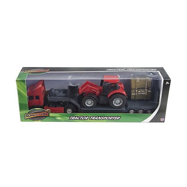 Грузовой автомобиль c трактором, HTl GrоuрМашинки<br>Фермерский грузовой автомобиль от британского бренда HTI – это не просто очередная машинка в игрушечном гараже мальчишки. Это масштабная модель настоящего автомобиля. Высокая степень детализации, реалистичные цвета сделают ролевую игру наиболее увлекательной и познавательной для малыша от 3 лет. Кроме того, такой игровой набор сможет занять достойное место на полке коллекционера моделей.<br>Набор состоит из грузовика для перевозки техники, трактора, который предстоит перевозить и дополнительных материалов для транспортировки.<br><br>Дополнительная информация:<br><br>Комплект: грузовоз, трактор, 2 тюка сена.<br>Из чего сделана игрушка (состав): пластик.<br>Размер: 7.3 x 10.8 x 34 см.<br><br>Грузовой автомобиль c трактором, HTl Grоuр можно купить в нашем магазине.<br><br>Ширина мм: 34<br>Глубина мм: 7<br>Высота мм: 11<br>Вес г: 260<br>Возраст от месяцев: 36<br>Возраст до месяцев: 96<br>Пол: Мужской<br>Возраст: Детский<br>SKU: 4574045