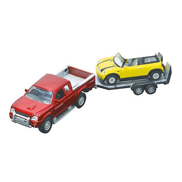 Машинки с прицепом, HTl GrоuрМашинки<br>Больше всего мальчишки любят играть с машинками. Даже во взрослом. Сознательном возрасте. Просто с годами растут запросы к размерам автомобилей. Для детей от 3 лет прекрасным вариантом станет игровой набор от HTI Эвакуатор с прицепом и мини-Купером. <br>Машинки в масштабе 1:43, и 1:32 на Ваш выбор- выполнены из высококачественных материалов пластика с металлическими элементами. Он отвечает высочайшим европейским требованиям безопасности, поэтому смело можете давать его ребенку от 3 лет.<br>Машинки детализированы, поэтому игра с ними будет намного интереснее, чем с любыми другими. Такой набор станет отличным началом, либо прекрасным дополнением чудесной коллекции.<br><br>Дополнительная информация:<br><br>Масштаб: 1:43, 1:32.<br>Комплект: внедорожник, прицеп, легковушка.<br>Материал: металл, пластик.<br><br>Машинки с прицепом, HTl Grоuр можно купить в нашем магазине.<br><br>Ширина мм: 29<br>Глубина мм: 7<br>Высота мм: 9<br>Вес г: 230<br>Возраст от месяцев: 36<br>Возраст до месяцев: 96<br>Пол: Мужской<br>Возраст: Детский<br>SKU: 4574046