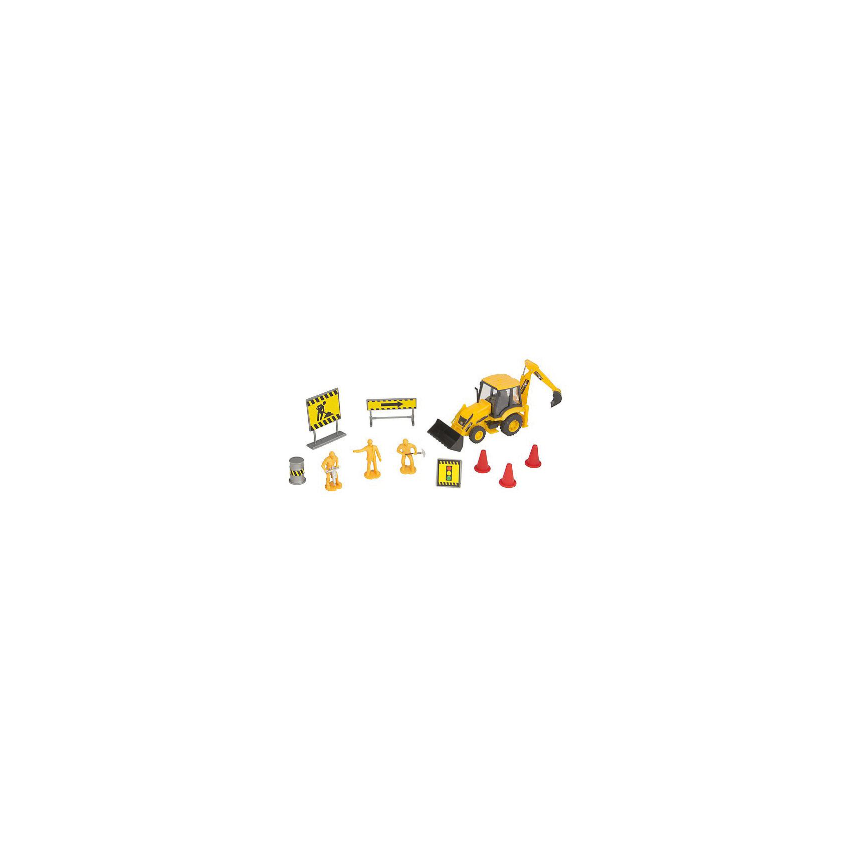 Строительная команда с трактором, HTl GrоuрМашинки<br>Строительство и автомобили – две темы, которые волнуют большинство мужчин с самого рождения. Обладать собственной строительной командой с соответствующей техникой – неимоверная радость для любого мальчишки! Пусть даже это будет сильно уменьшенная копия.<br>Британский бренд HTI предлагает набор «Строительная команда» в трех вариантах. Модели машин максимально детализированы и имеют множество подвижных частей. Фигурки рабочих с аксессуарами сделают ролевую игру максимально приближенной к реальности. Такой набор рекомендуется детям с 3 лет, но сможет занять достойное место в коллекции моделей взрослого человека.<br><br>Дополнительная информация:<br><br>Комплект: трактор, 3 фигурки рабочих, аксессуары.<br>Материал: пластик.<br>Размер упаковки: 10.2 х 11.5 х 36.2 см.<br><br>Строительная команда с трактором, HTl Grоuр можно купить в нашем магазине.<br><br>Ширина мм: 36<br>Глубина мм: 10<br>Высота мм: 12<br>Вес г: 150<br>Возраст от месяцев: 36<br>Возраст до месяцев: 96<br>Пол: Мужской<br>Возраст: Детский<br>SKU: 4574047
