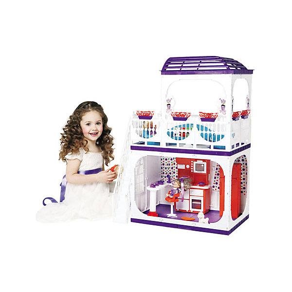 Дом для кукол Barbie Конфетти, ОгонекДомики для кукол<br>Характеристики товара:<br><br>• возраст: от 3 лет;<br>• материал: пластик;<br>• в комплекте: дом, горшки с цветами;<br>• подходит для кукол высотой до 30 см;<br>• размер домика: 120х82х33 см;<br>• размер упаковки: 35х23х15 см;<br>• вес упаковки: 5 кг;<br>• страна производитель: Россия.<br><br>Дом для кукол Barbie «Конфетти» Огонек без мебели — настоящий домик для любимой куколки девочки. Дом подойдет для кукол до 30 см. Дом состоит из двух этажей. На первом этаже комната, а на втором открытая терраса с куполом для летнего отдыха. Терраса окружена ажурными ограждениями. На террасу ведет белая лестница. Дом изготовлен из качественного прочного пластика.<br><br>Дом для кукол Barbie «Конфетти» Огонек без мебели можно приобрести в нашем интернет-магазине.<br><br>Ширина мм: 235<br>Глубина мм: 150<br>Высота мм: 350<br>Вес г: 5000<br>Возраст от месяцев: 36<br>Возраст до месяцев: 2147483647<br>Пол: Женский<br>Возраст: Детский<br>SKU: 4575888