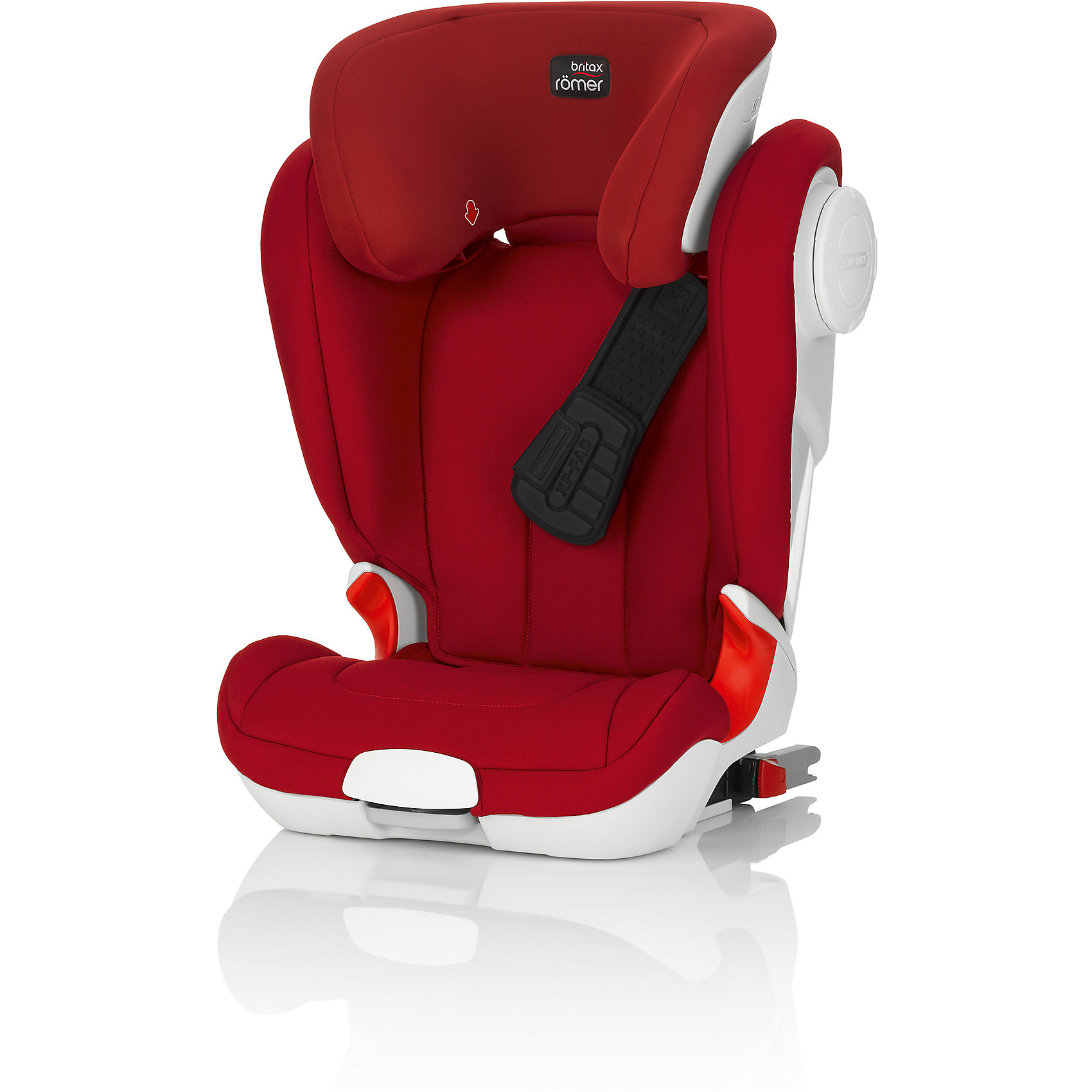Britax Römer Автокресло KIDFIX XP-SICT, 15-36 кг., BRITAX ROMER, Flame Red Trendline active yarn net stitching design gym leggings in black