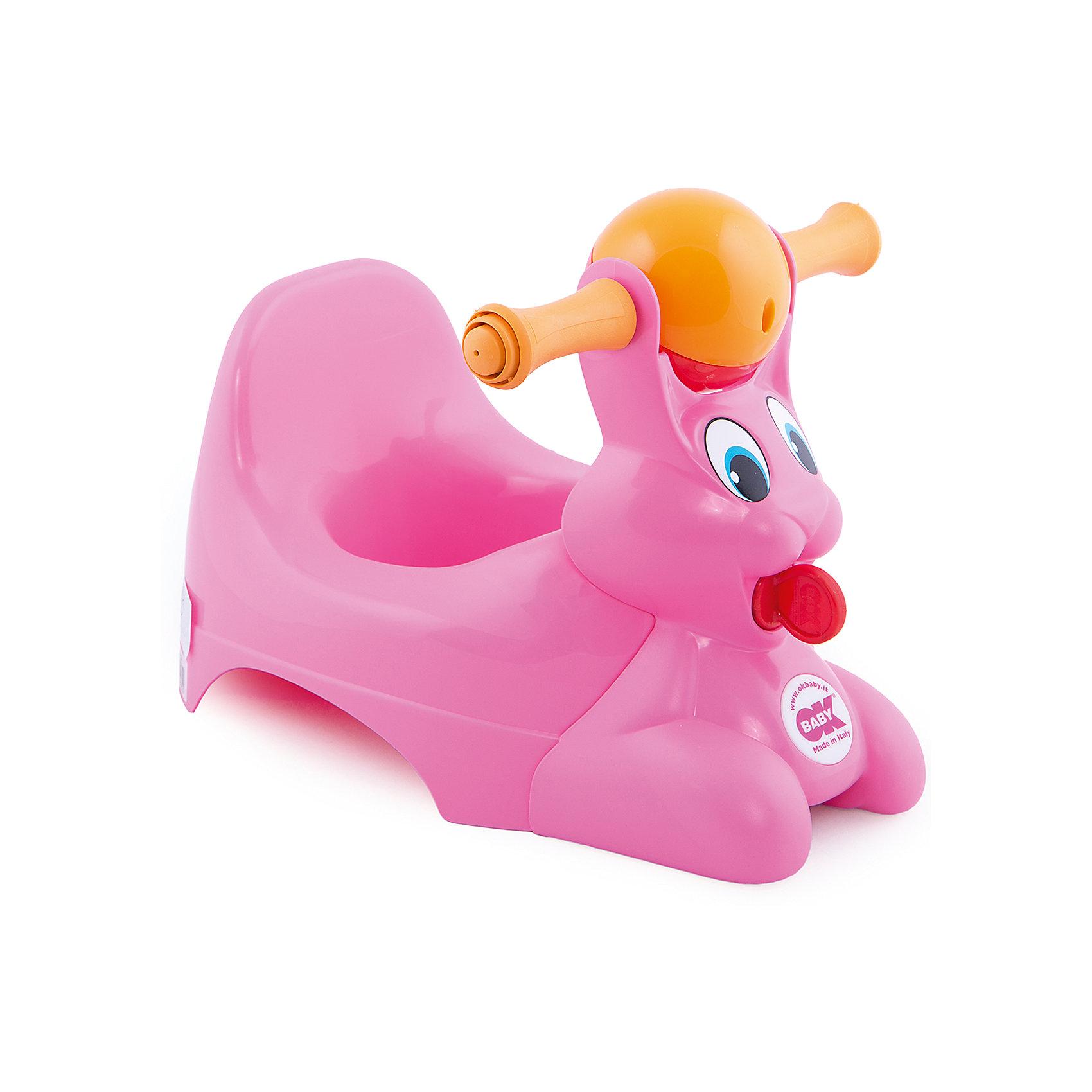 Горшок Spidy, OK Baby, розовый