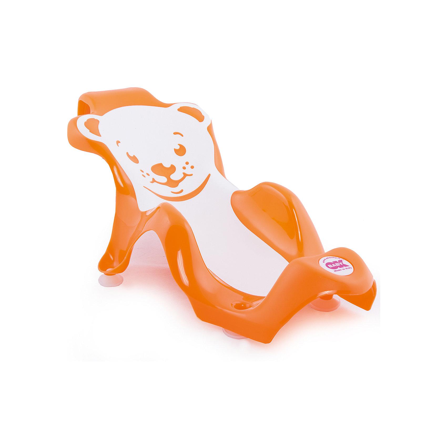 Горка для купания Buddy, Ok Baby, оранжевый<br><br>Ширина мм: 630<br>Глубина мм: 310<br>Высота мм: 250<br>Вес г: 1083<br>Возраст от месяцев: 0<br>Возраст до месяцев: 8<br>Пол: Унисекс<br>Возраст: Детский<br>SKU: 4576993