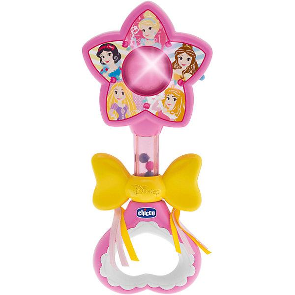 Волшебная палочка Принцесс, Disney,  CHICCOДругие наборы<br>Волшебная палочка Принцесс, Disney,  CHICCO (ЧИКО) – это игрушка не оставит равнодушной вашу девочку.<br>Электронная волшебная палочка привлечет внимание вашей принцессы. Стоит только взмахнуть волшебной палочкой, она засветится, и заиграет приятная мелодия. Волшебная палочка украшена изображением Диснеевских принцесс и большим желтым бантом. Бант движется вверх и вниз, а внутри палочки пересыпаются разноцветные шарики.<br><br>Дополнительная информация:<br><br>- Датчик движения активирует мелодии и световые эффекты<br>- Материал: пластик<br>- Батарейки: 2 типа АА (не входят в комплект)<br>- Размер упаковки: 167х210х40 мм.<br>- Вес: 120 гр.<br><br>Волшебную палочку Принцесс, Disney,  CHICCO (ЧИКО) можно купить в нашем интернет-магазине.<br><br>Ширина мм: 167<br>Глубина мм: 210<br>Высота мм: 40<br>Вес г: 120<br>Возраст от месяцев: 3<br>Возраст до месяцев: 36<br>Пол: Унисекс<br>Возраст: Детский<br>SKU: 4577231