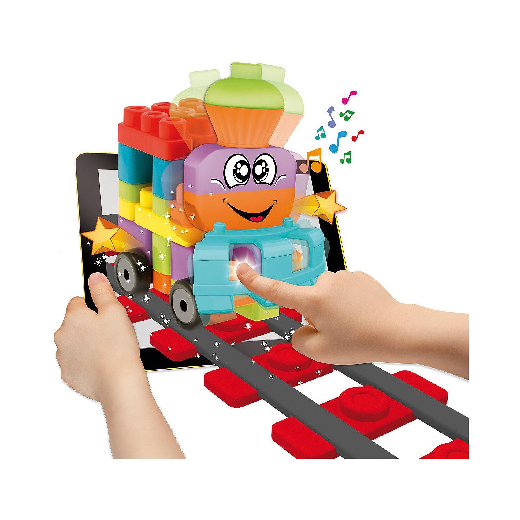 Набор строительных блоков Машины, 40шт, CHICCOИнтерактивные игрушки для малышей<br>Набор строительных блоков Машины, 40шт, CHICCO (ЧИКО) – это конструктор с которым виртуальность становится реальностью.<br>С набором строительных блоков Машины от Chicco (Чико) ребенок научится собирать забавные фигурки в виде различных транспортных средств - самолет, забавный паровозик, вертолет, параплан и грузовой автомобильчик. Целых 5 весёлых транспортных средств! Игрушка помогает ребенку развивать мелкую моторику, логическое и образное мышление, а также фантазию и воображение! На этом волшебство этой игрушки не заканчивается! Скачайте бесплатное приложение в AppStore или GooglePlay и оживите собранную фигурку! Приложение подходит для планшетов и смартфонов. Направляя планшет на собранную фигурку, малыш увидит, как игрушка оживет, будет мило улыбаться ему с экрана, подмигивать и хлопать глазками, а нажимая на фигурку на экране планшета, малыш увидит, как она двигается и меняет свое положение! Набор изготовлен из высококачественного прочного и абсолютно безопасного пластика. Не содержит бисфенол-а.<br><br>Дополнительная информация:<br><br>- В наборе: 40 блоков<br>- Материал: пластик<br>- Размер упаковки: 250х70х424 мм.<br>- Вес: 750 гр.<br><br>Набор строительных блоков Машины, 40шт, CHICCO (ЧИКО) можно купить в нашем интернет-магазине.<br><br>Ширина мм: 250<br>Глубина мм: 70<br>Высота мм: 424<br>Вес г: 750<br>Возраст от месяцев: 12<br>Возраст до месяцев: 72<br>Пол: Унисекс<br>Возраст: Детский<br>SKU: 4577234